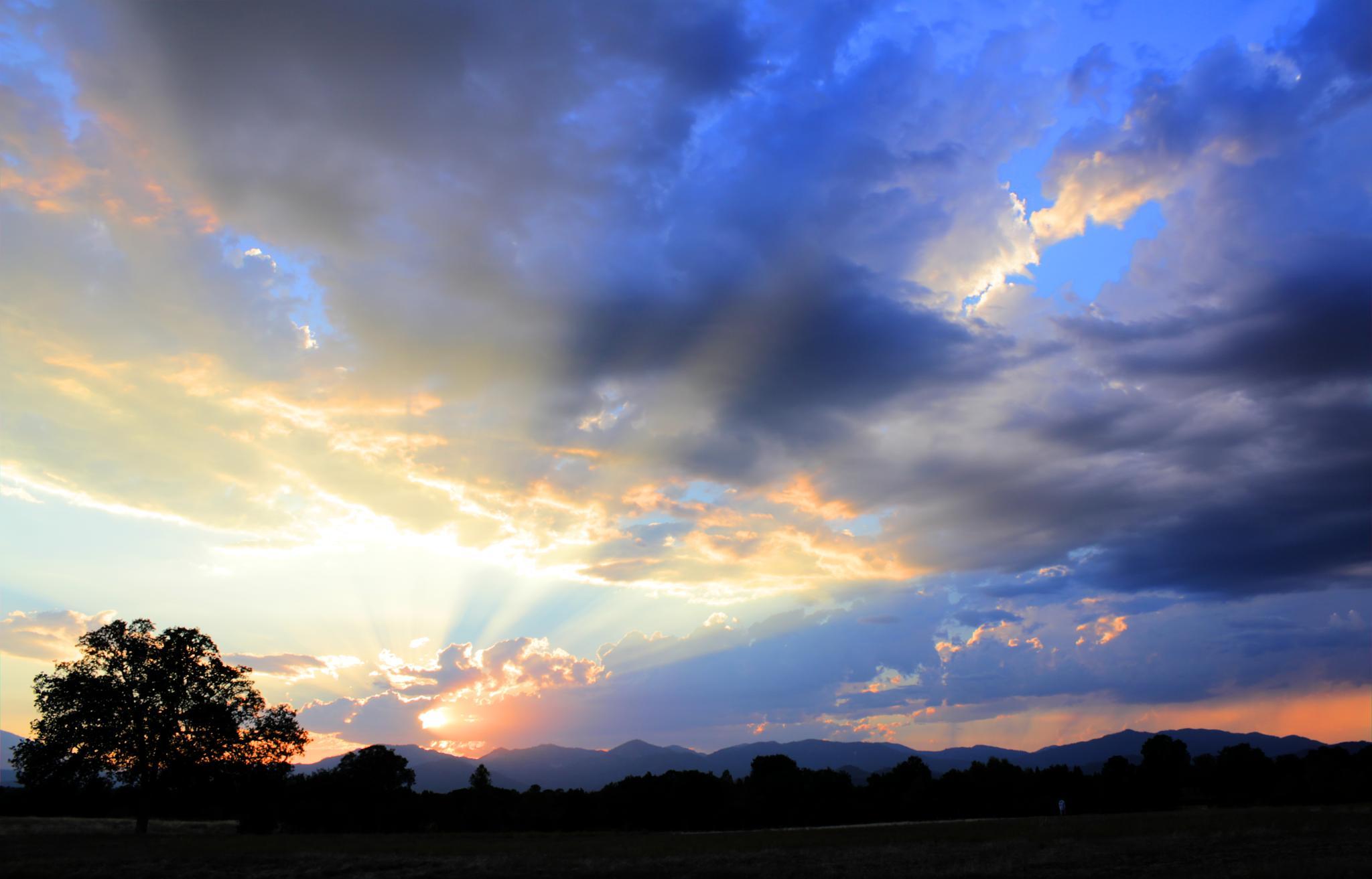 Lema Ranch Sunset by rickinredding