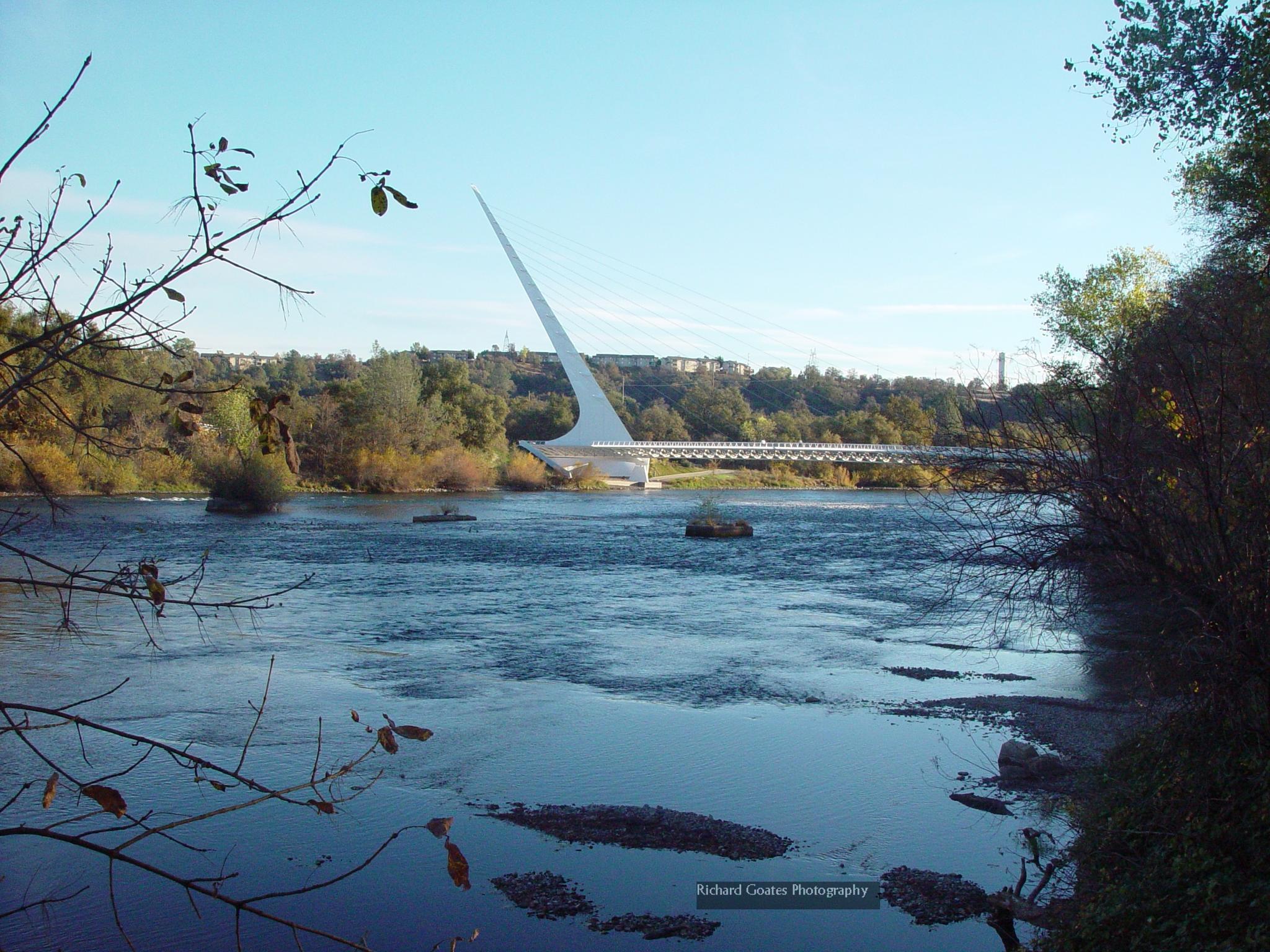 Sundial Bridge Redding California USA by rickinredding