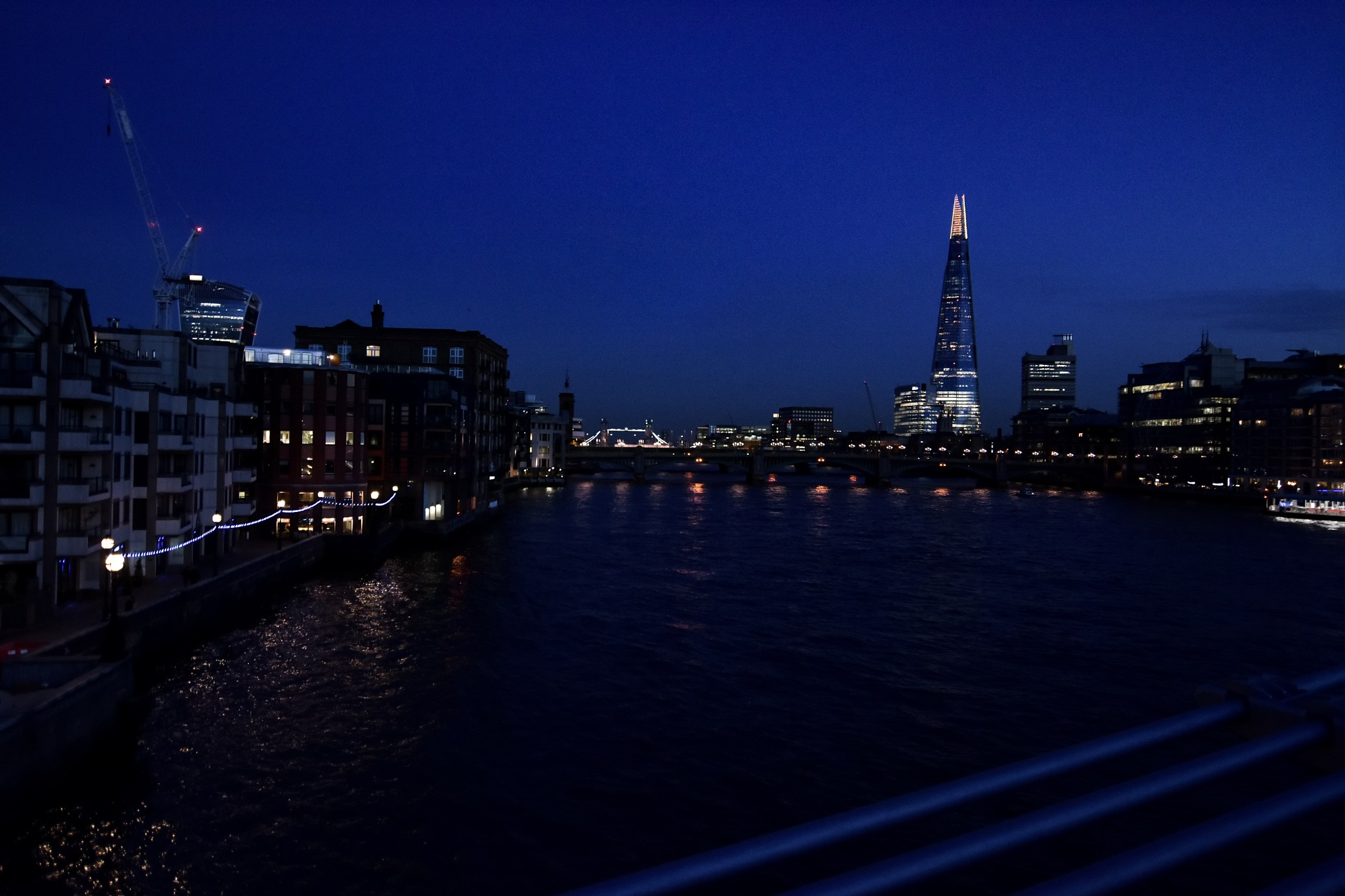 RIVER THAMES by NIGHT by Tom P