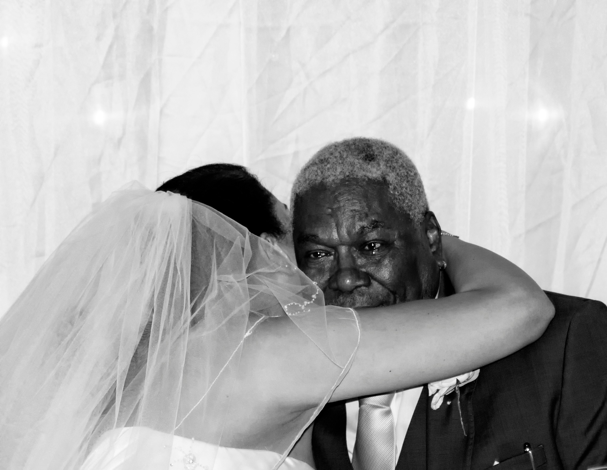 Father of the Brides tears by Tom P