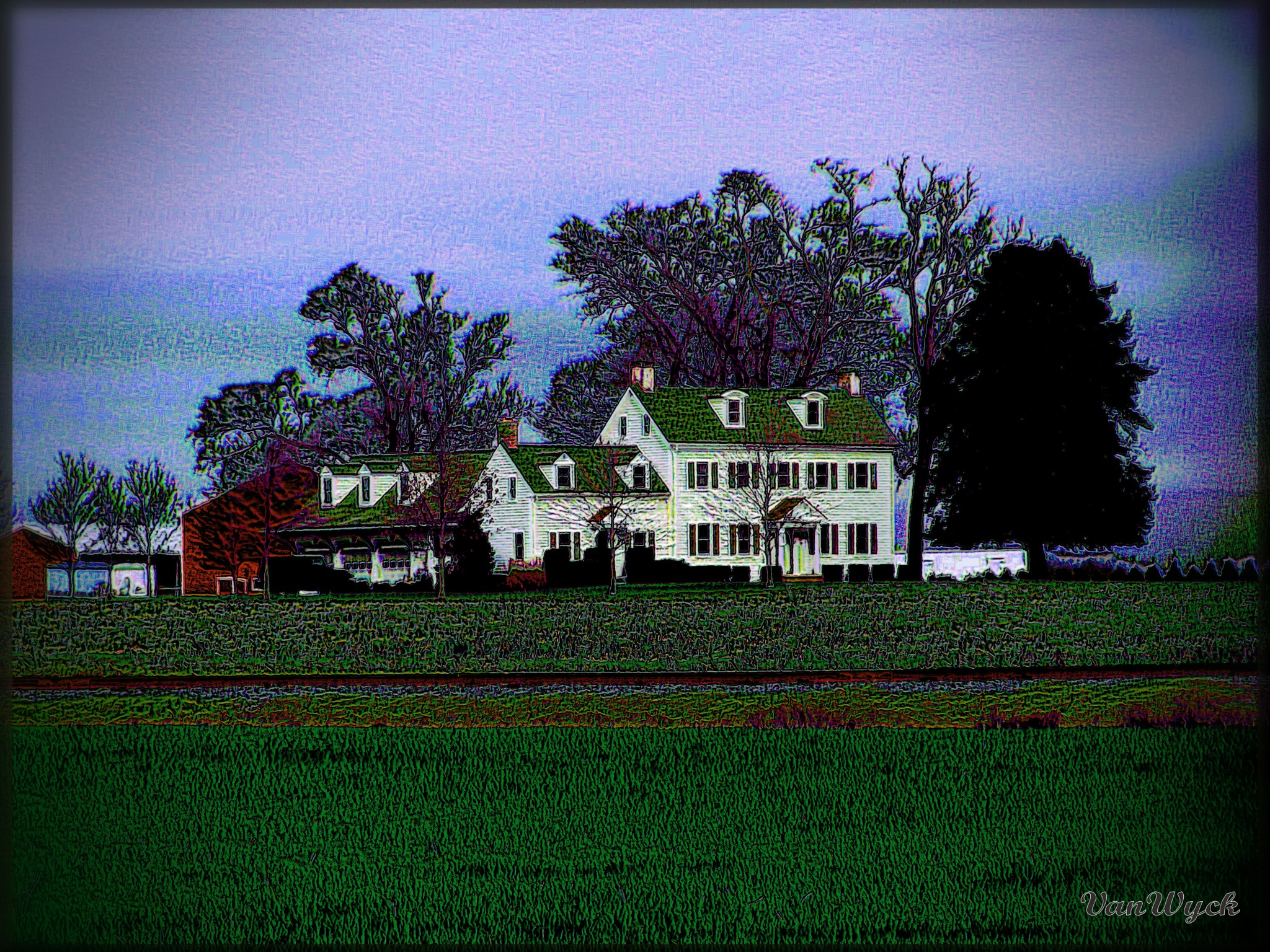 The Main House by VanWyck