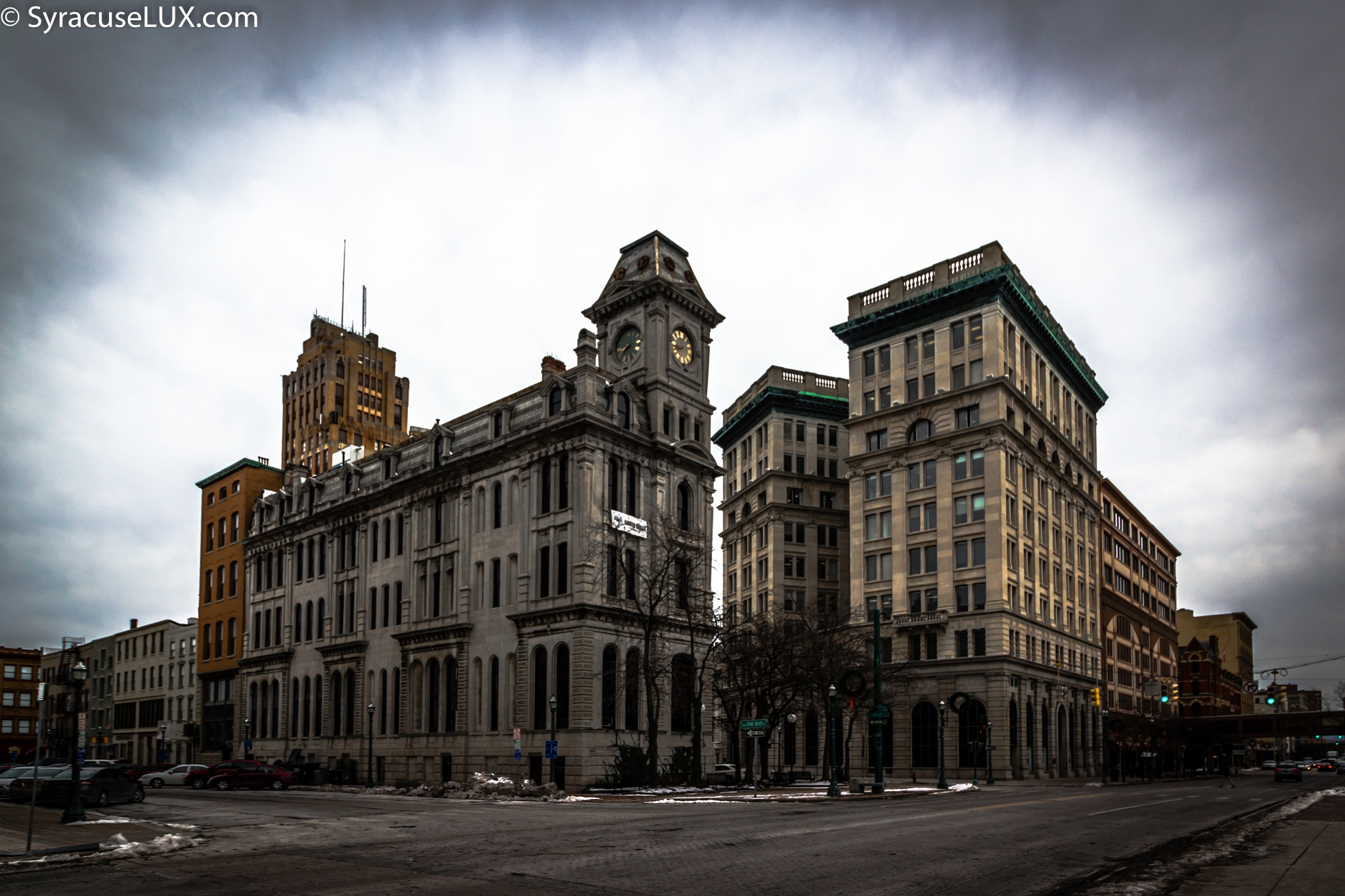 Syracuse Downtown at Clinton Square by MF - SyracuseLUX