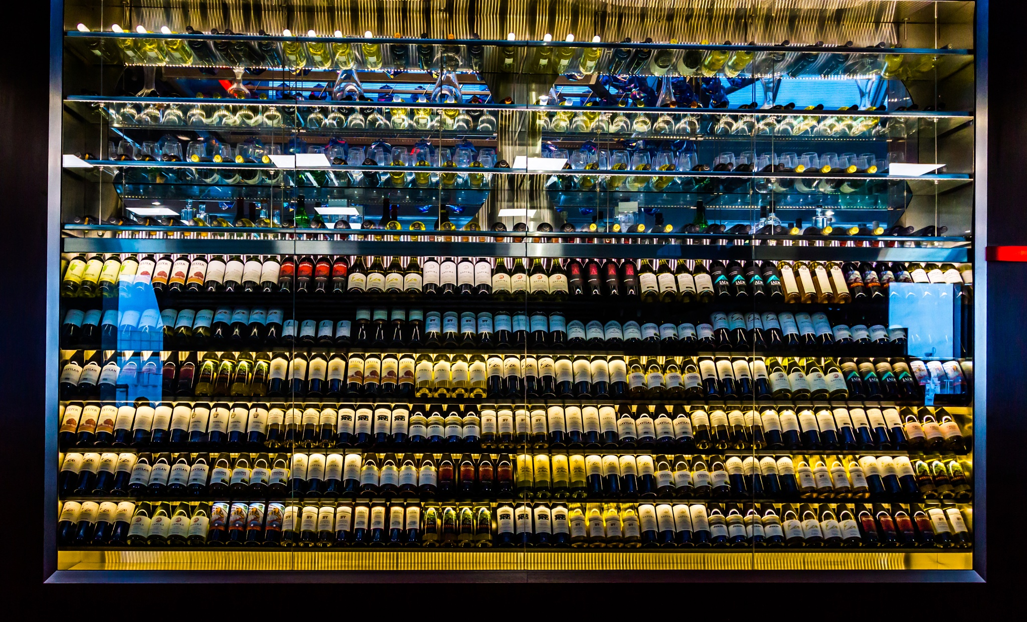 Photo in Abstract #wine #still life #abstract #everyday art #laguardia airport #nyc #new york #new york city #usa #airport #wine bar #bar