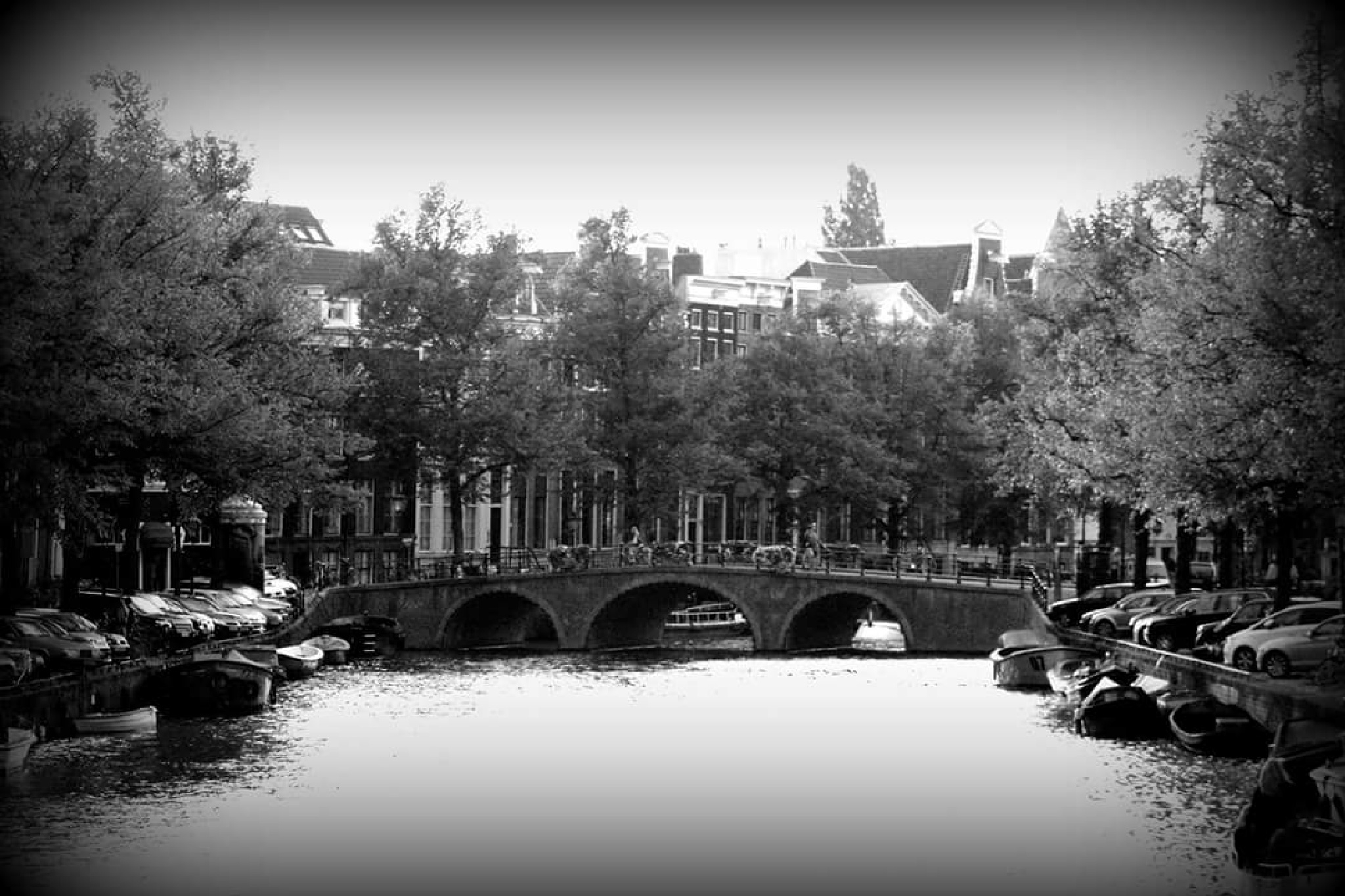 2015 Amsterdam frozen in black and white  by MF - SyracuseLUX