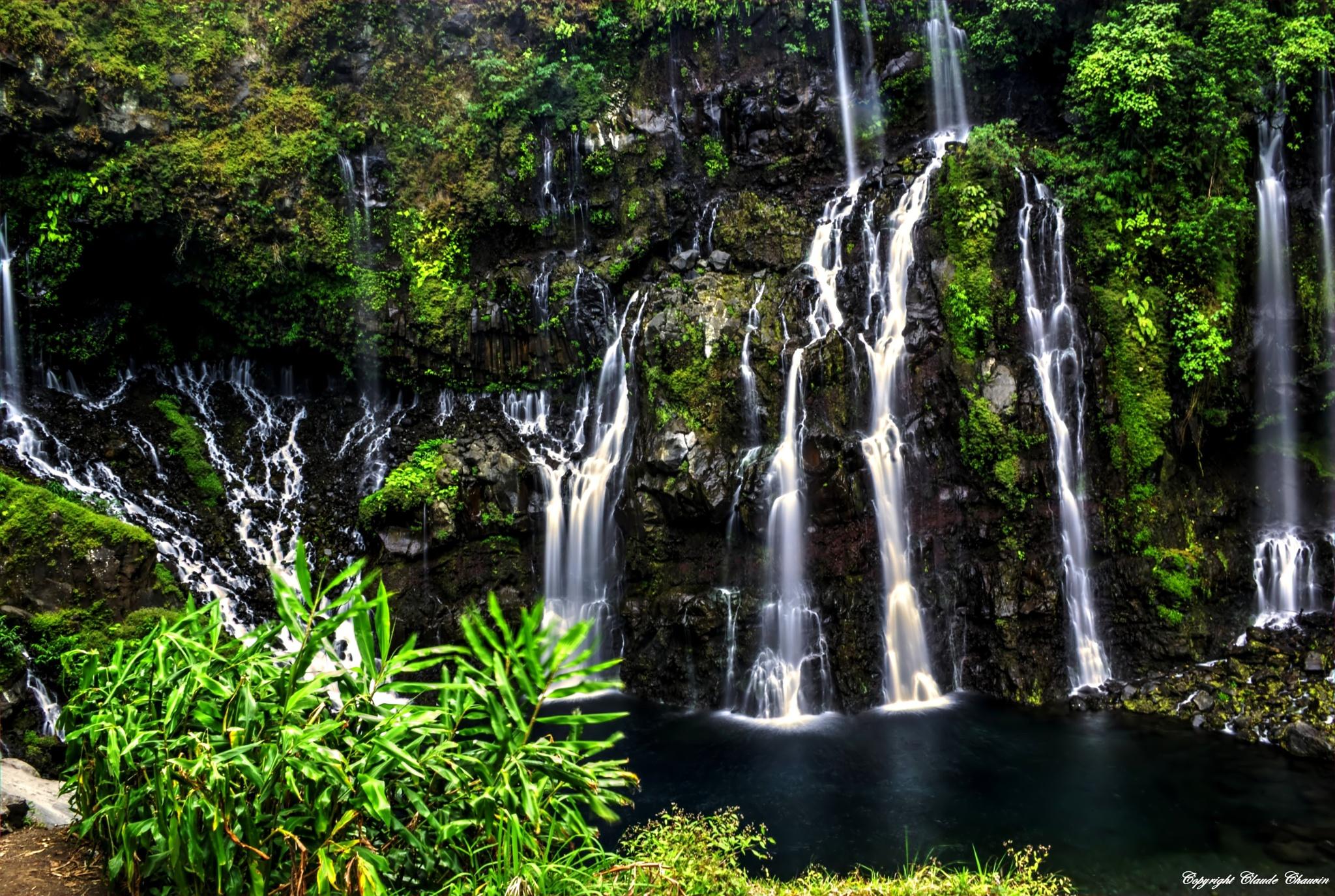 Langevin Waterfall II by claudechauvin67