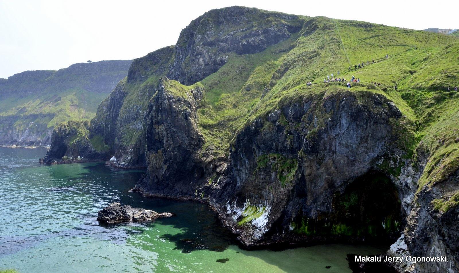 Ireland Emerald Island.Co Antrim by Makalu Jerzy Ogonowski