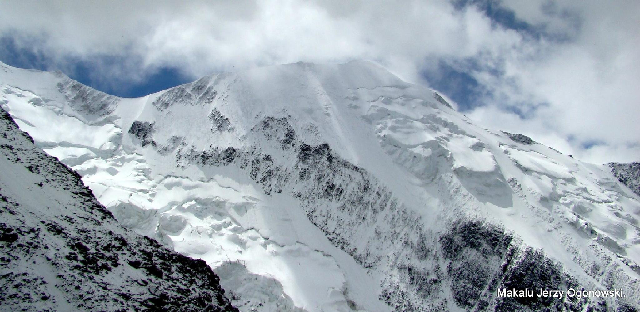 On the way to Mount Blanc4810m.French Alps. by Makalu Jerzy Ogonowski
