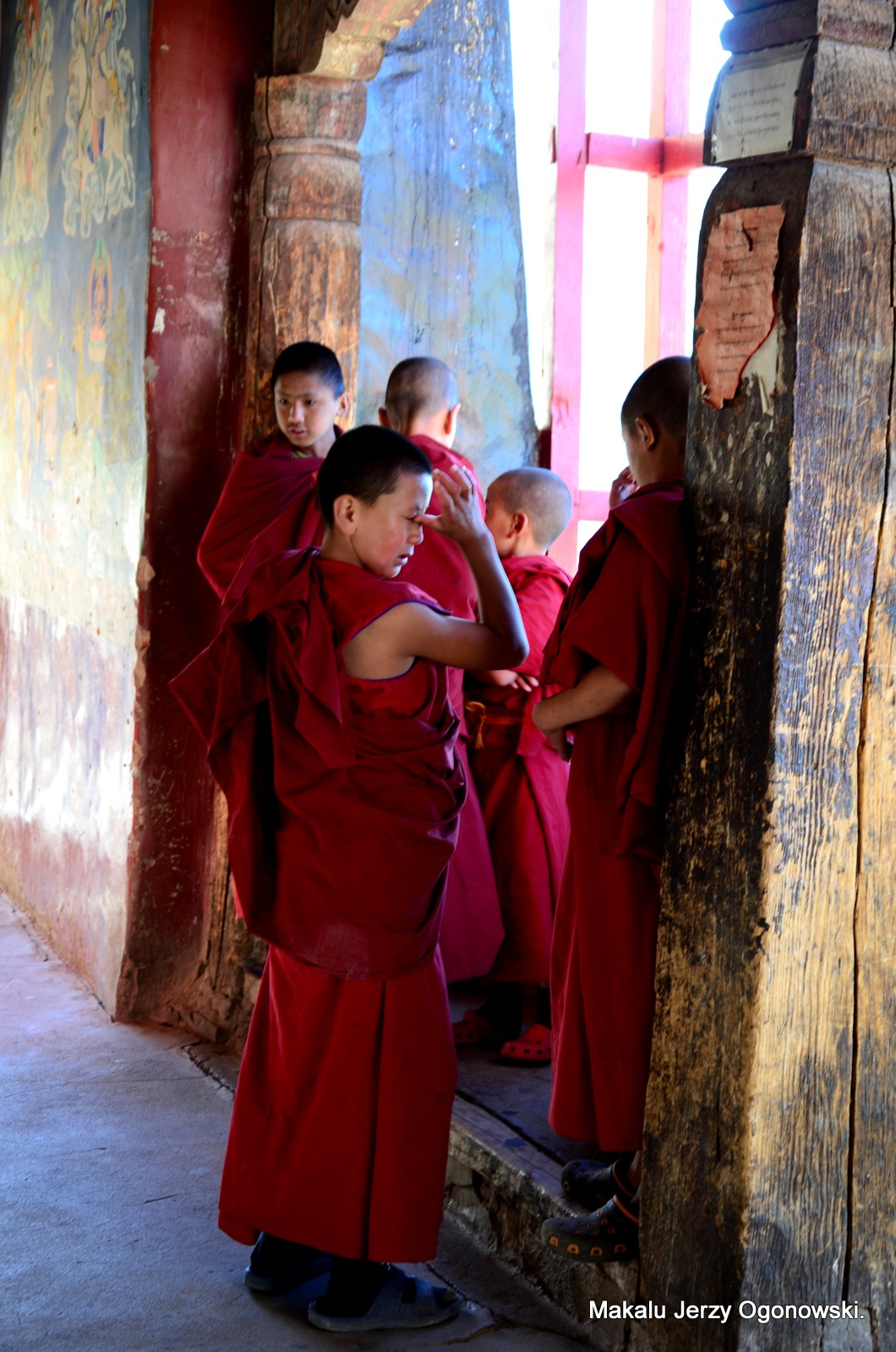 Thikse Monastery.Ladakh.India.Western Tibet. by Makalu Jerzy Ogonowski