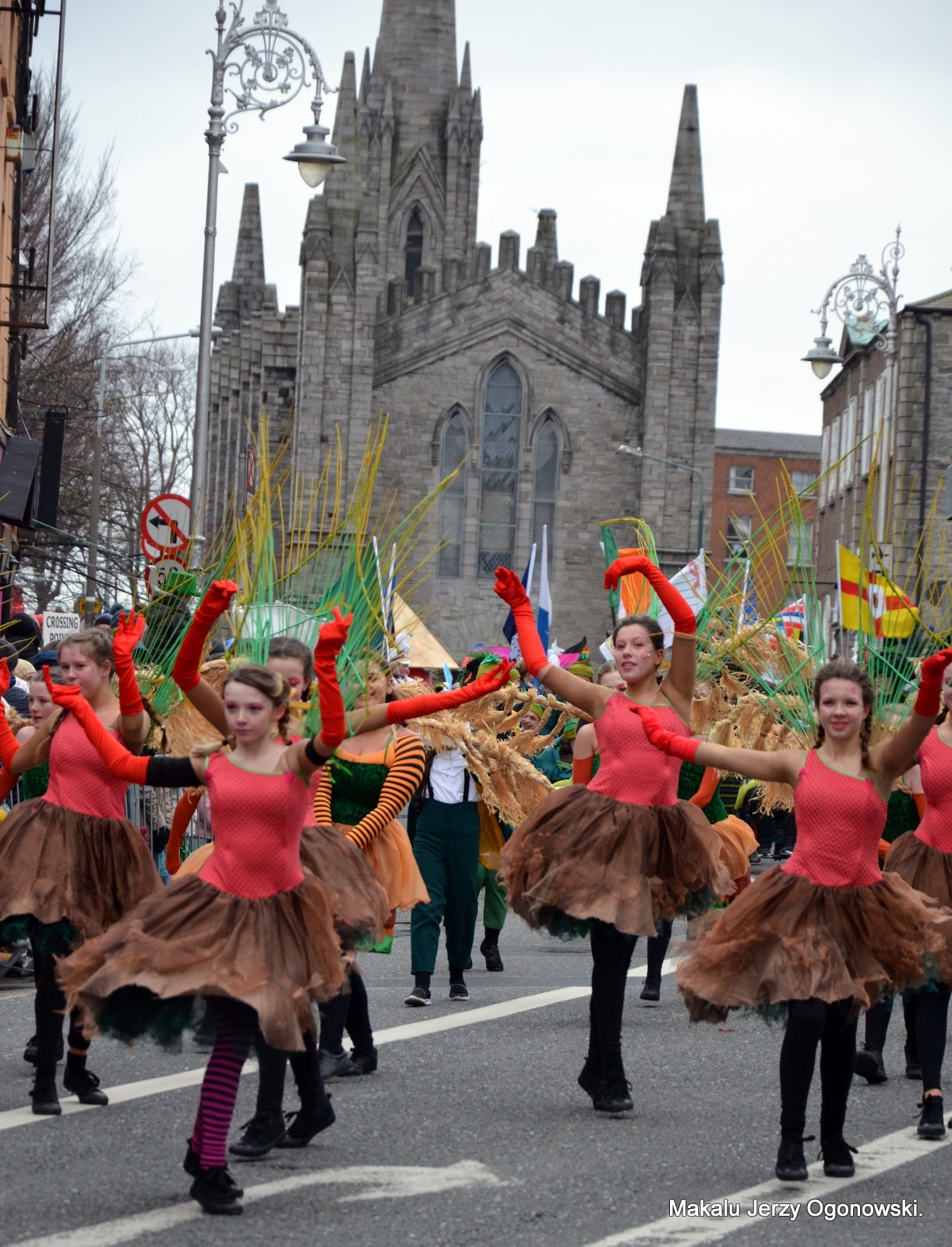 St.Patrick Day Dublin.Ireland by Makalu Jerzy Ogonowski