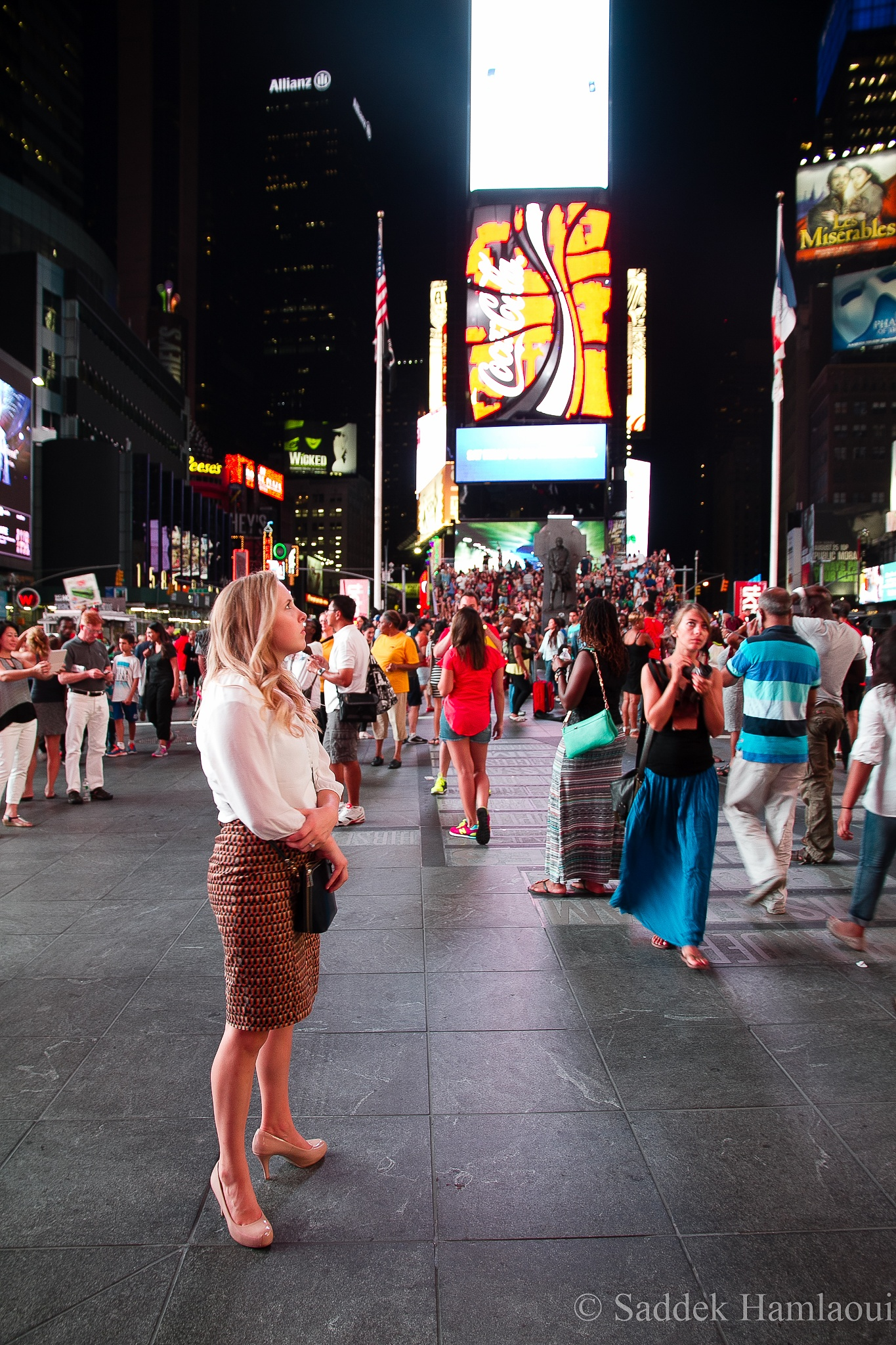 the girl of time square by hamlaoui.saddek