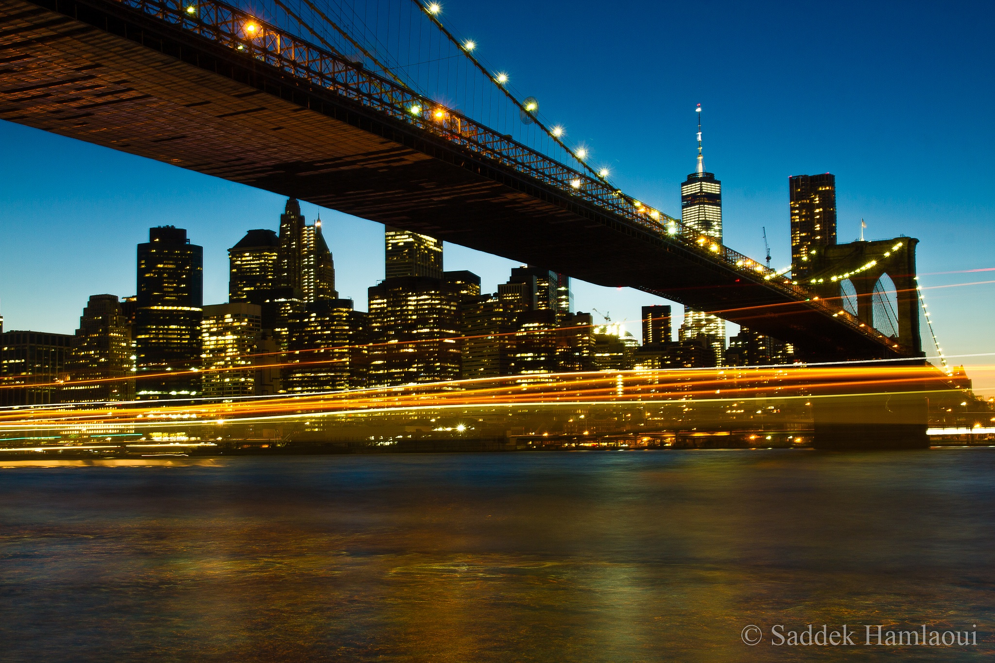 New York lights by hamlaoui.saddek