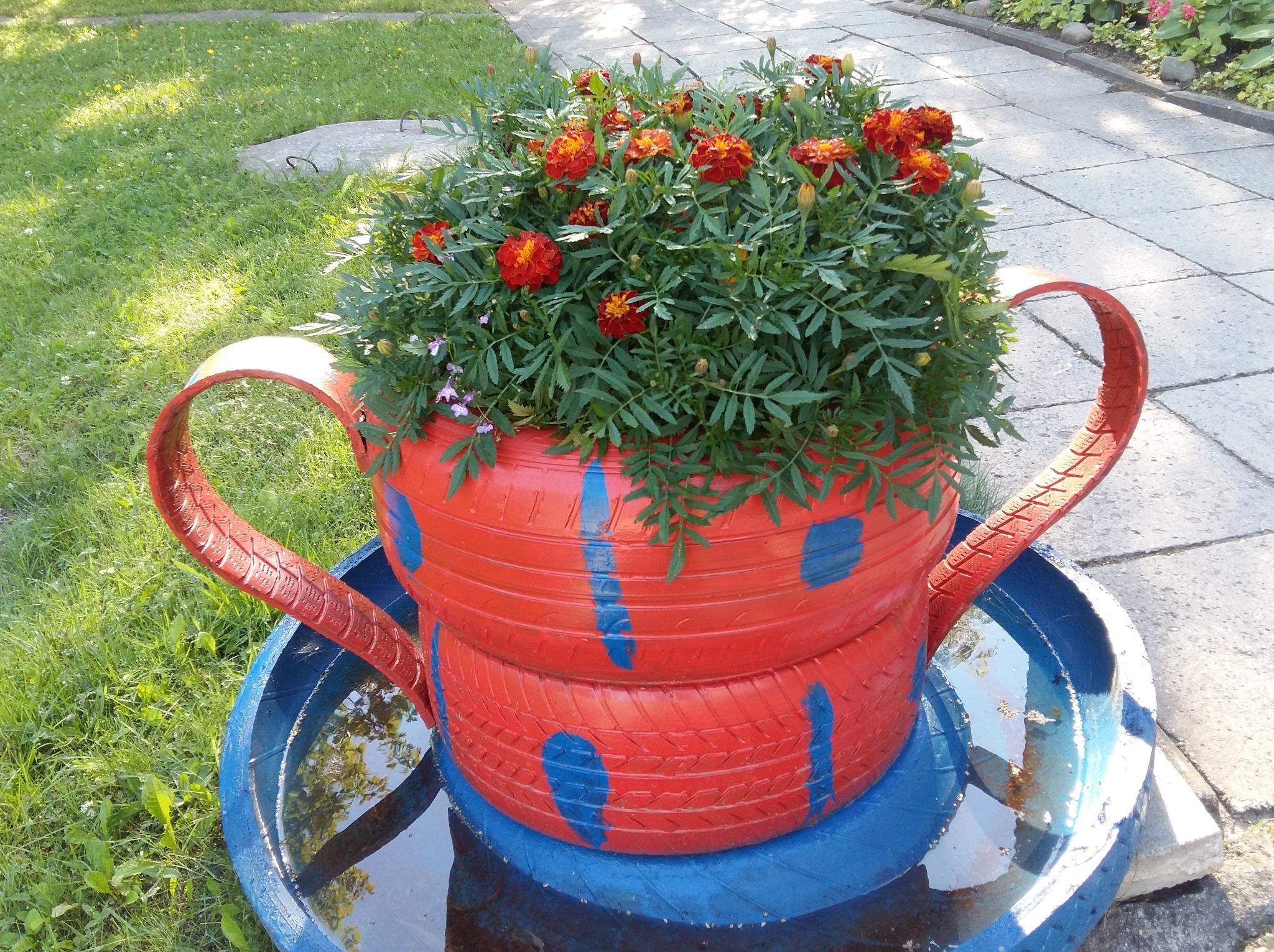 Flowers in pots by uzkuraitiene62