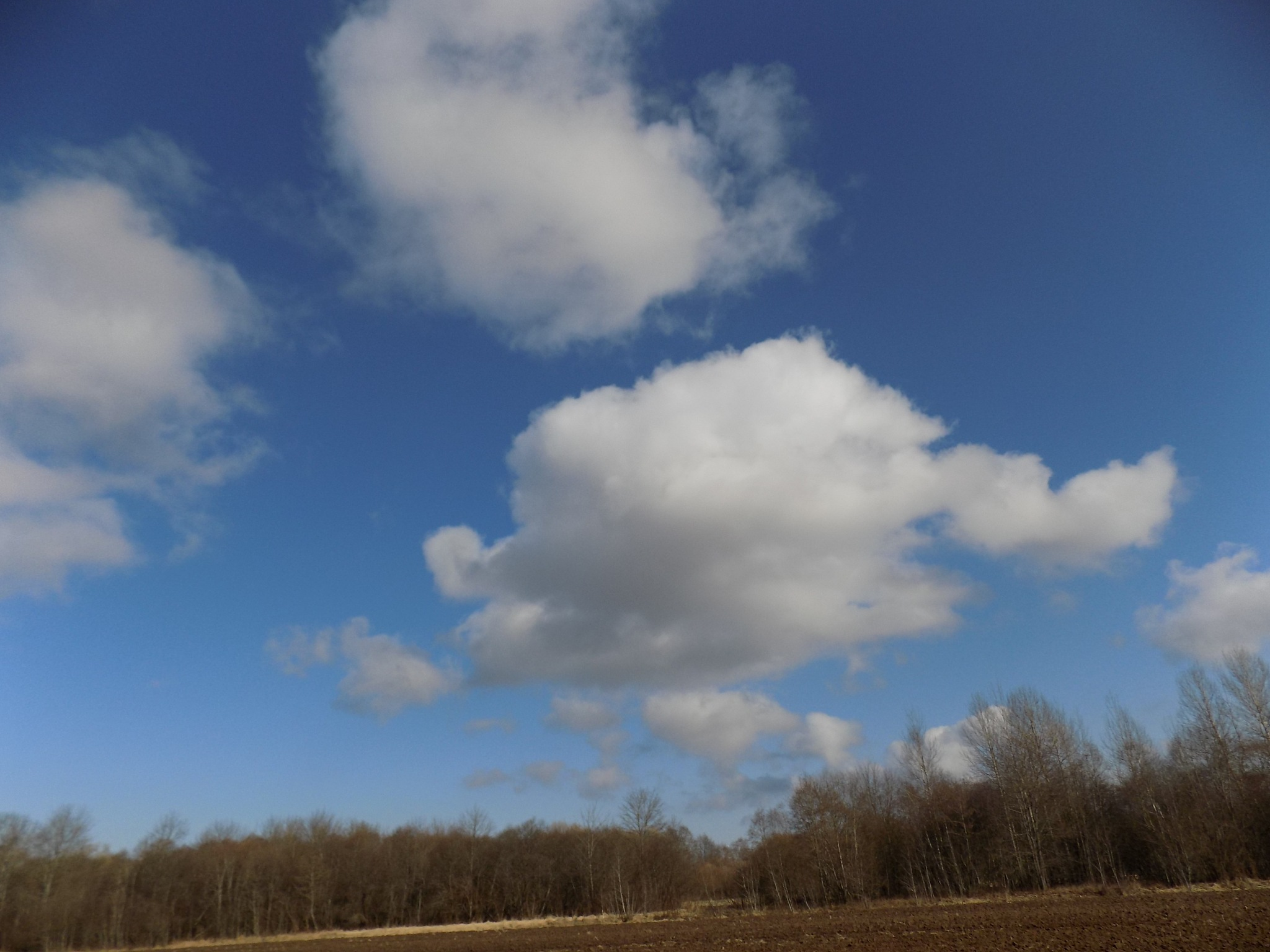 White clouds by uzkuraitiene62
