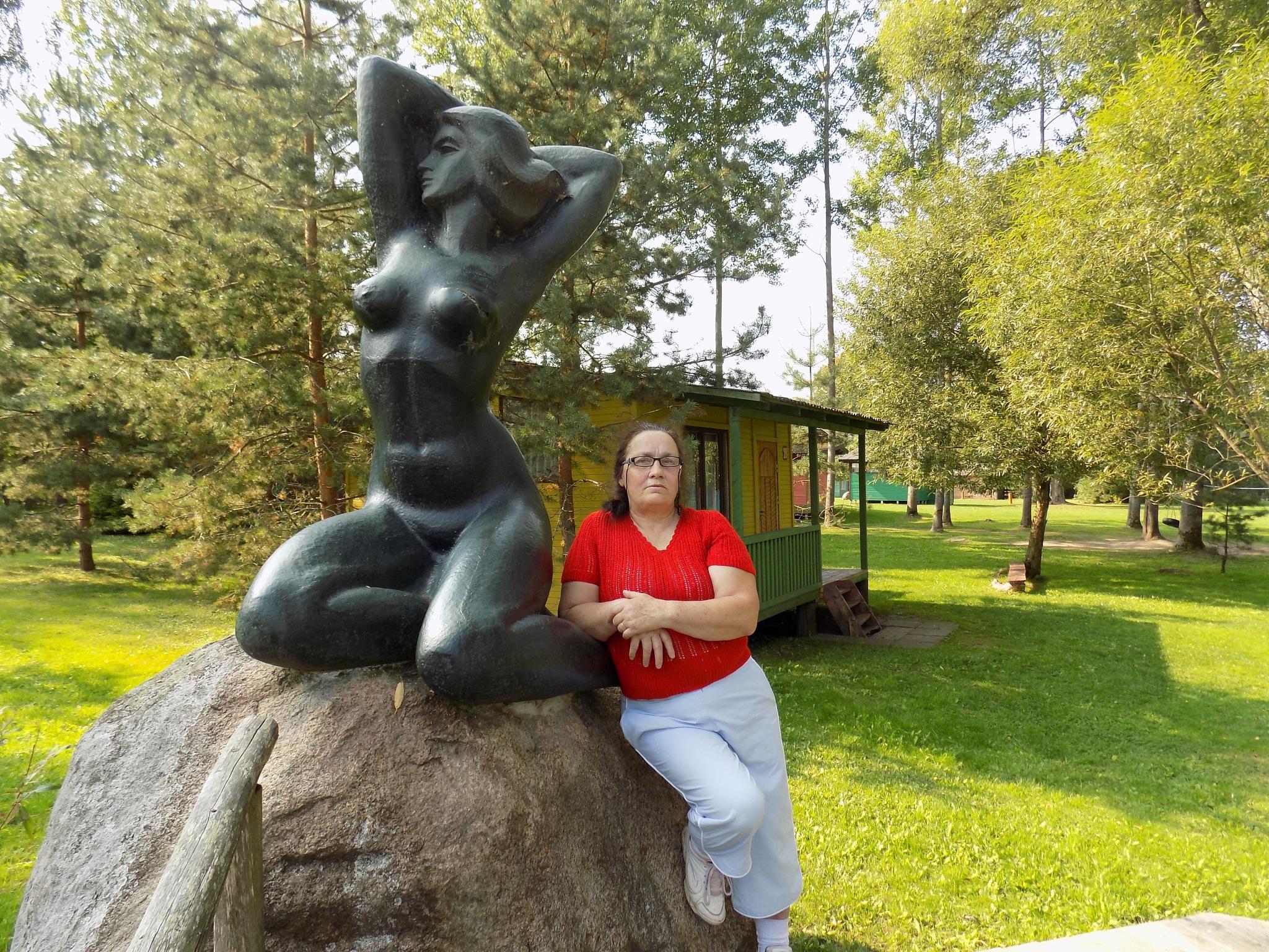 Selfie to sculpture by uzkuraitiene62