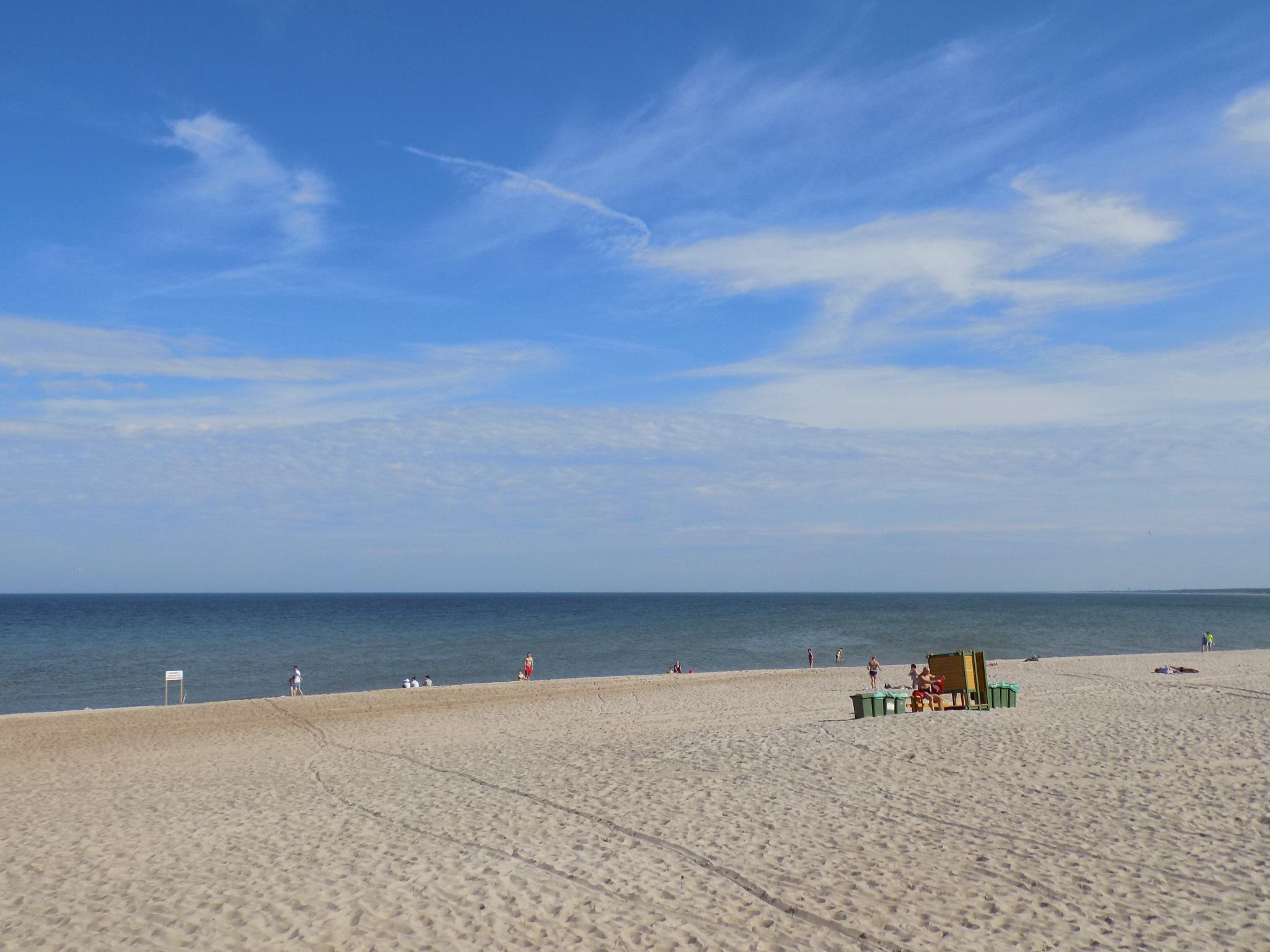 Sand, sea , sky by uzkuraitiene62