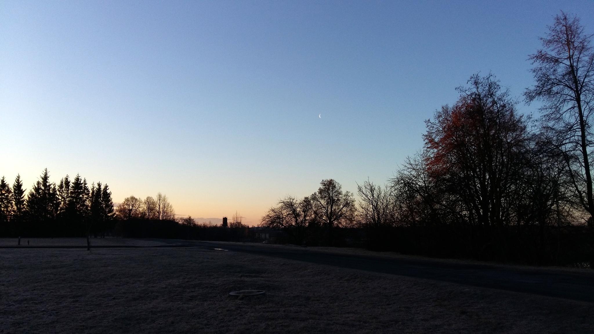 Morning sky. by uzkuraitiene62