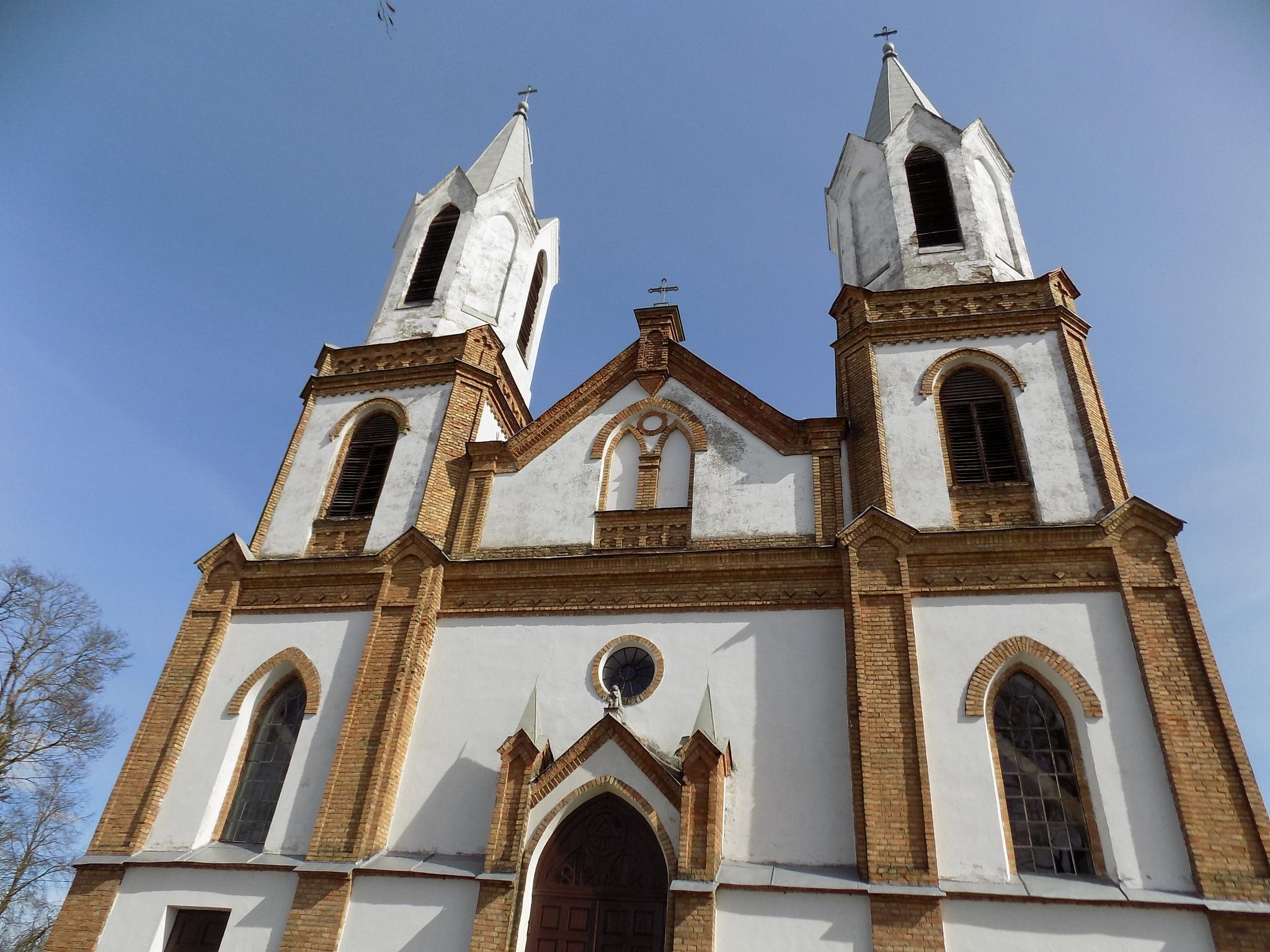 Church towers. by uzkuraitiene62