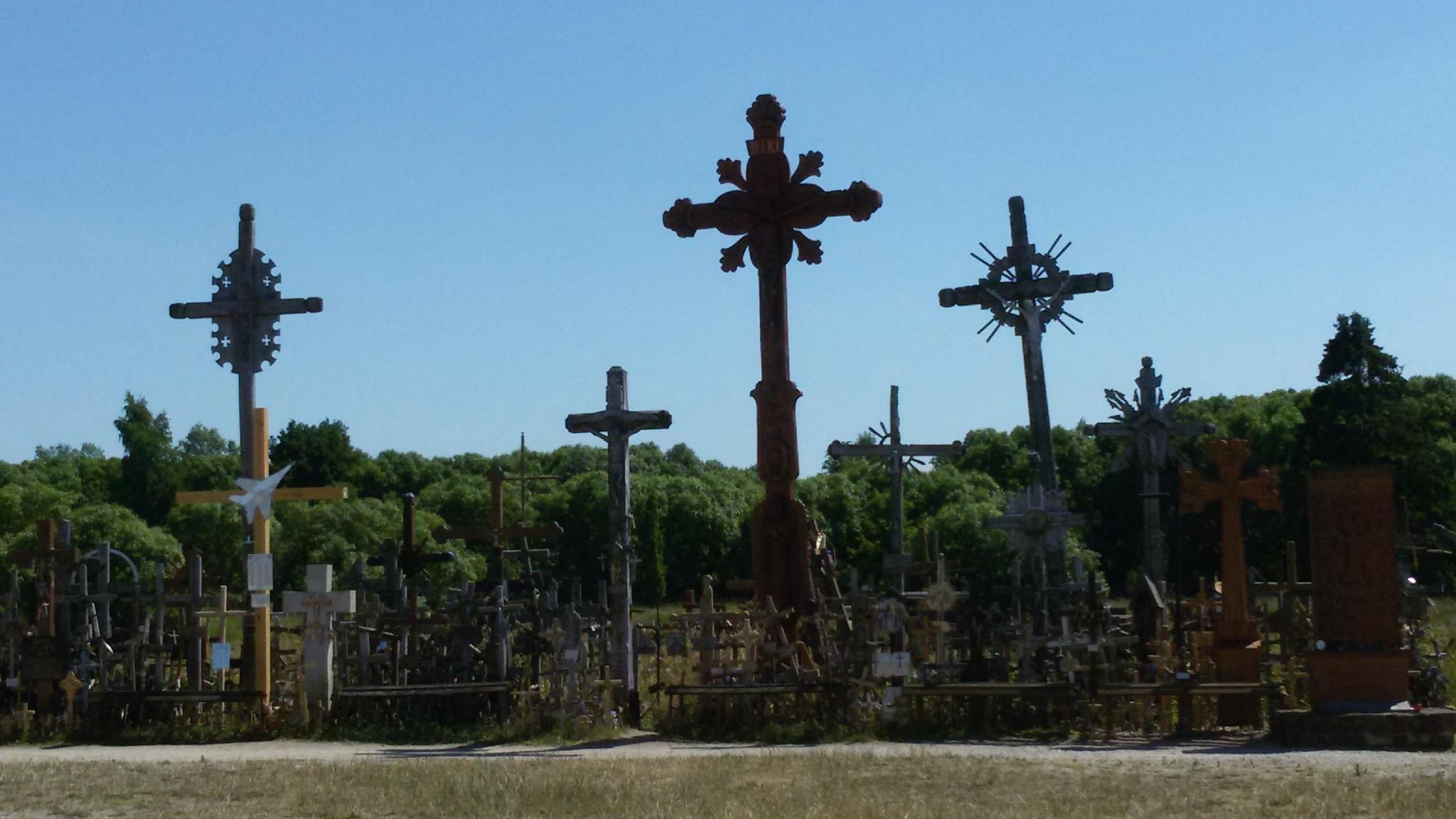 On the ,,Hill of Crosses'' /LITHUANIA/ by uzkuraitiene62