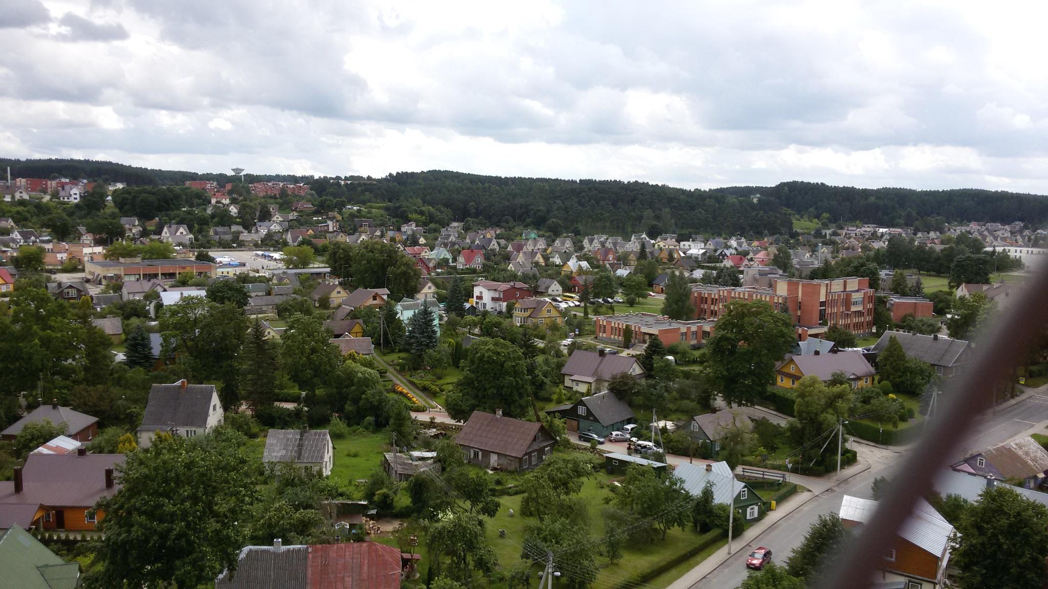 Panorama of the city by uzkuraitiene62
