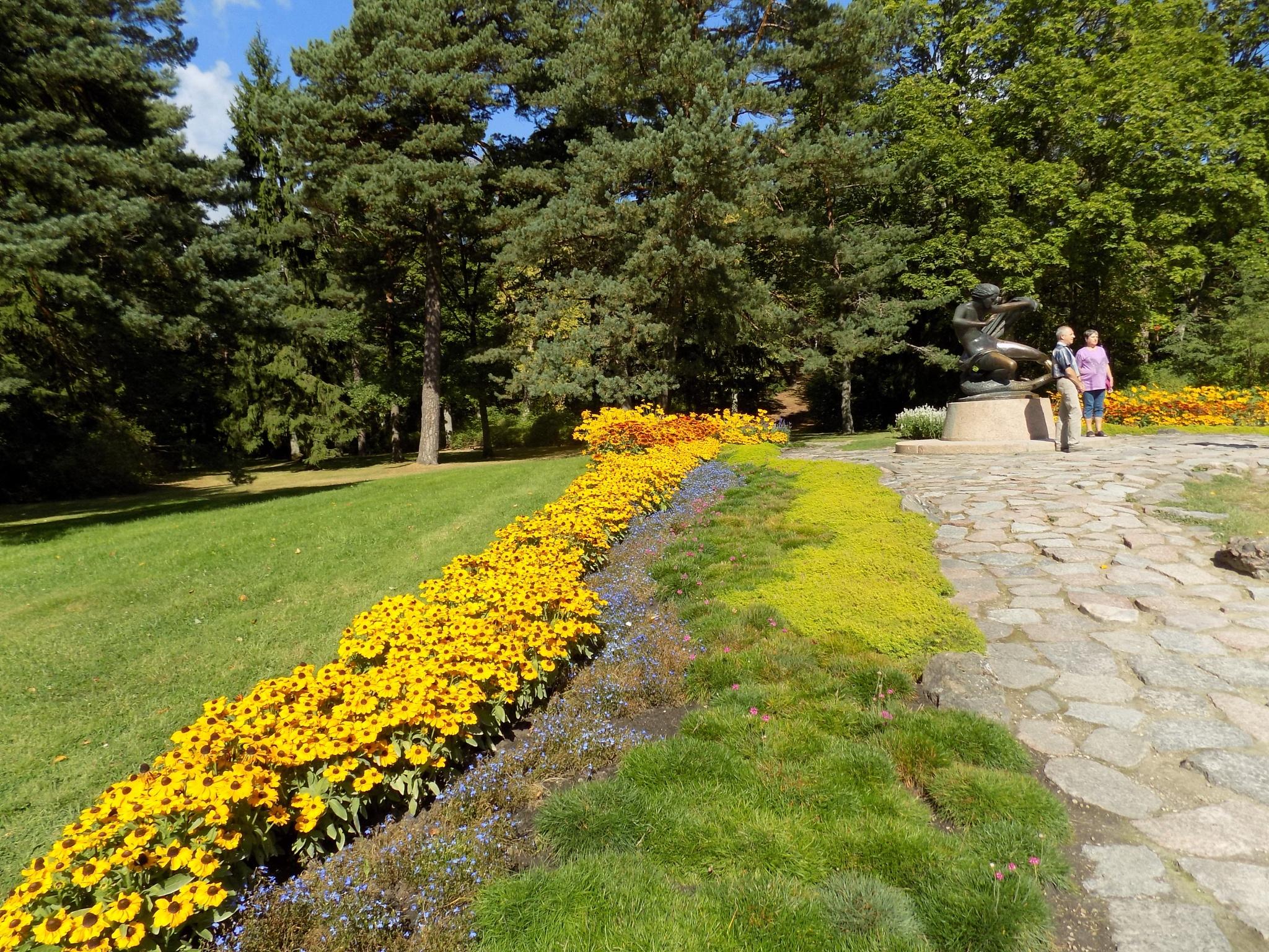 Flowers in the park by uzkuraitiene62