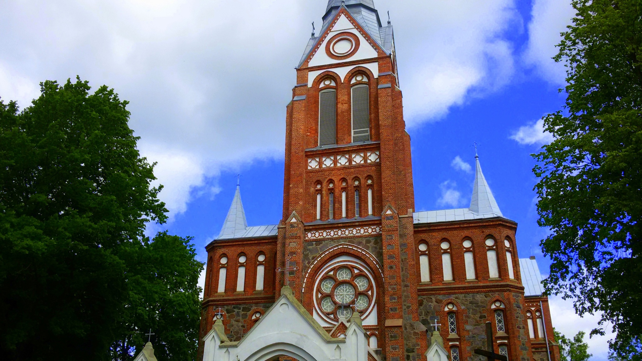 Church tower by uzkuraitiene62
