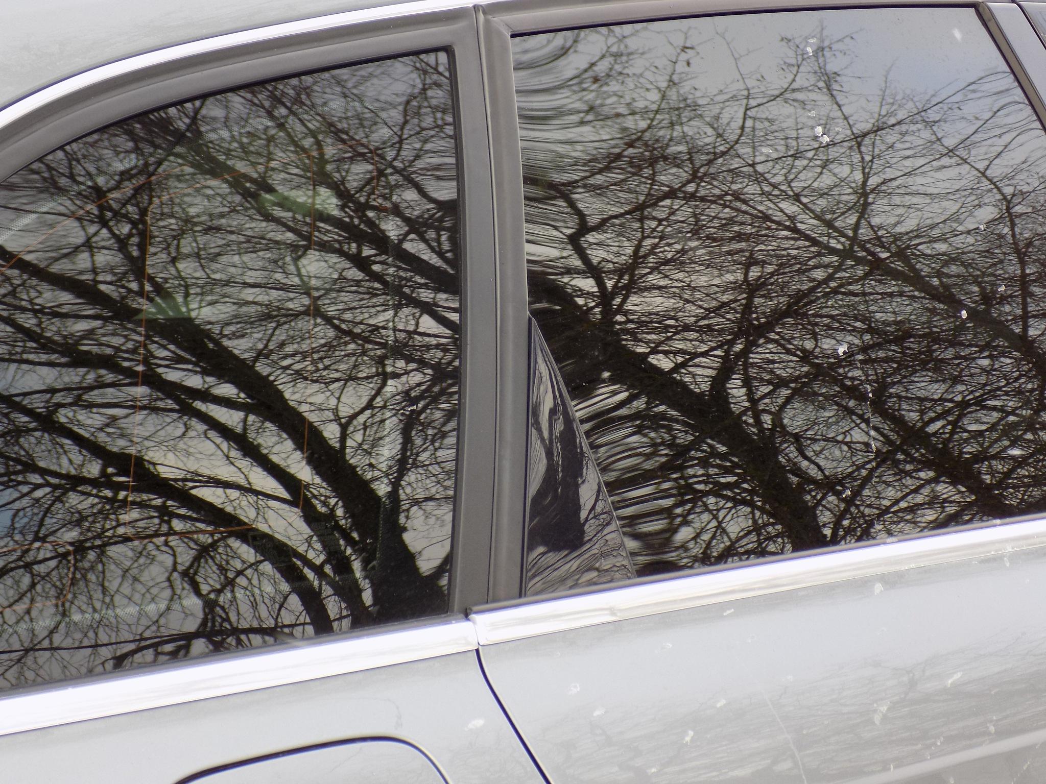 Reflects on car window by uzkuraitiene62