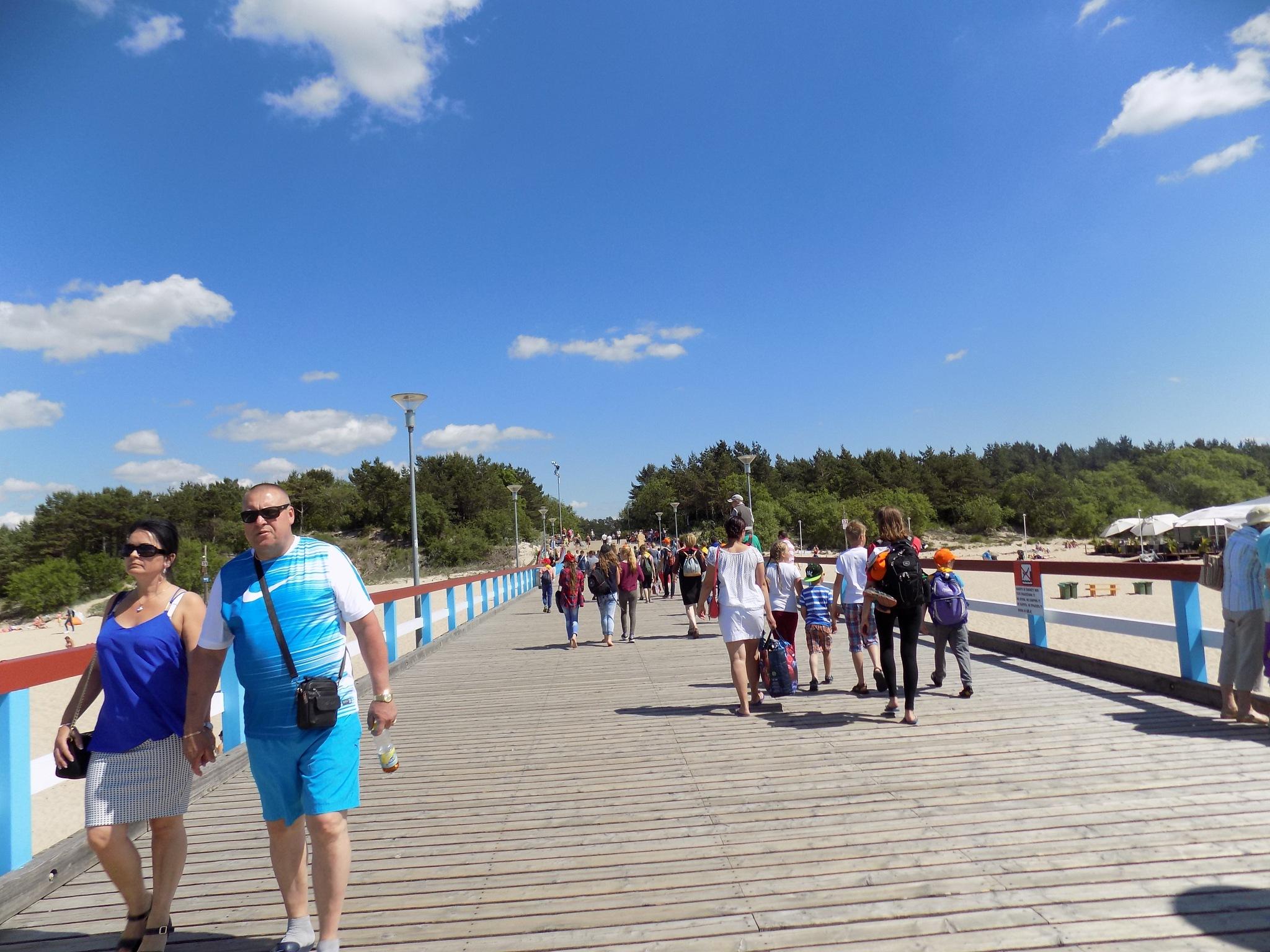 On the sea bridge by uzkuraitiene62