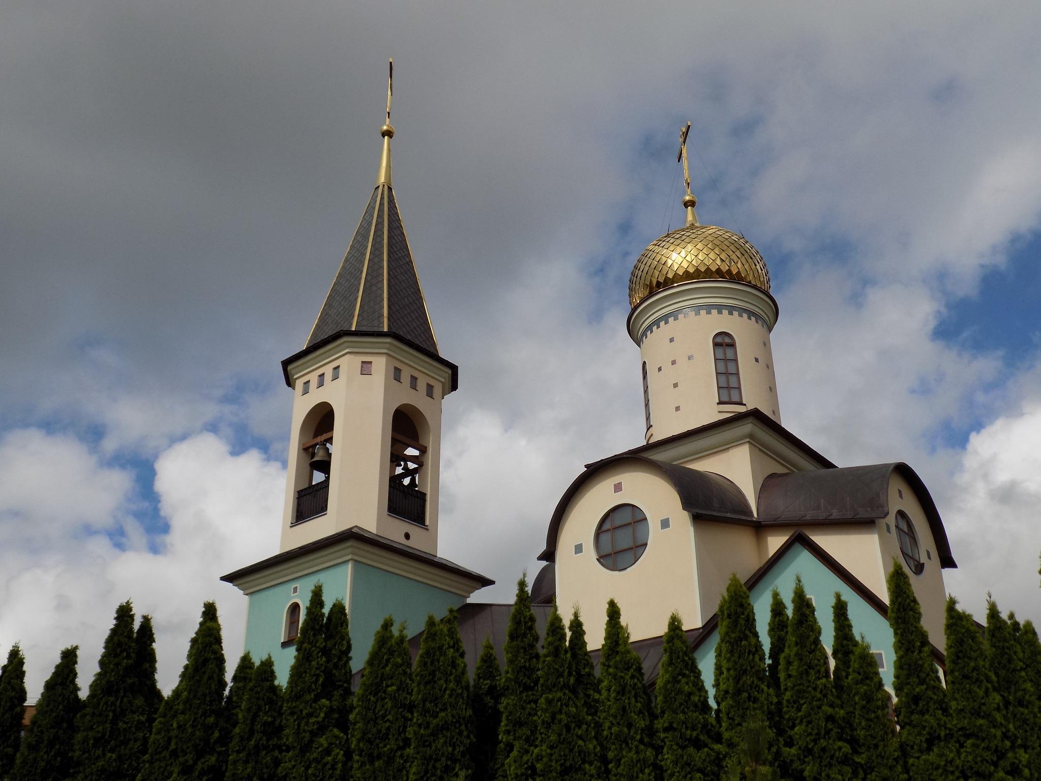 Church towers by uzkuraitiene62