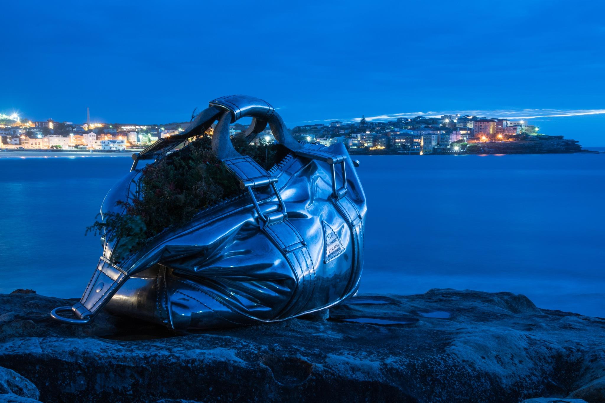 Sculptors by the Sea Bondi Beach by marilyncov