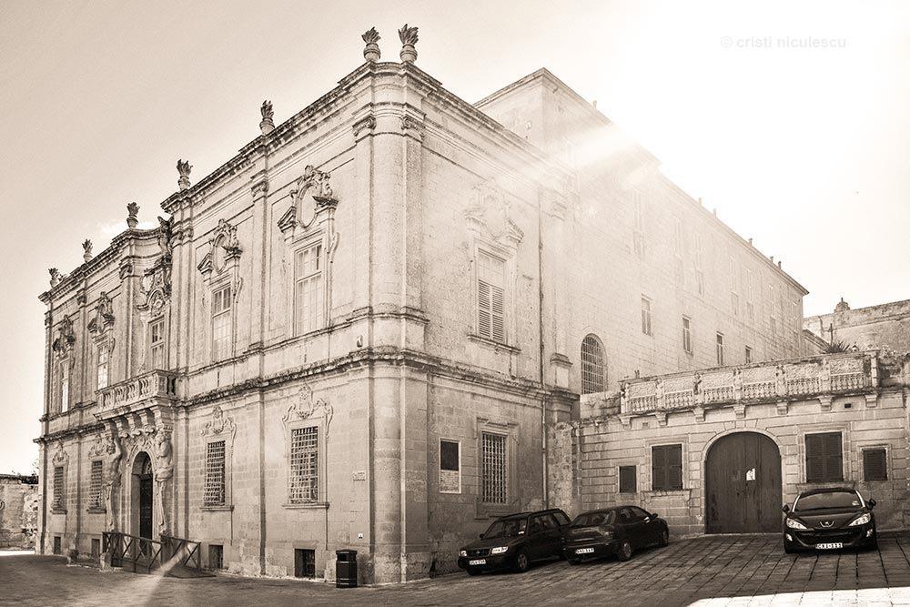 Mdina Palace by Cristi Niculescu