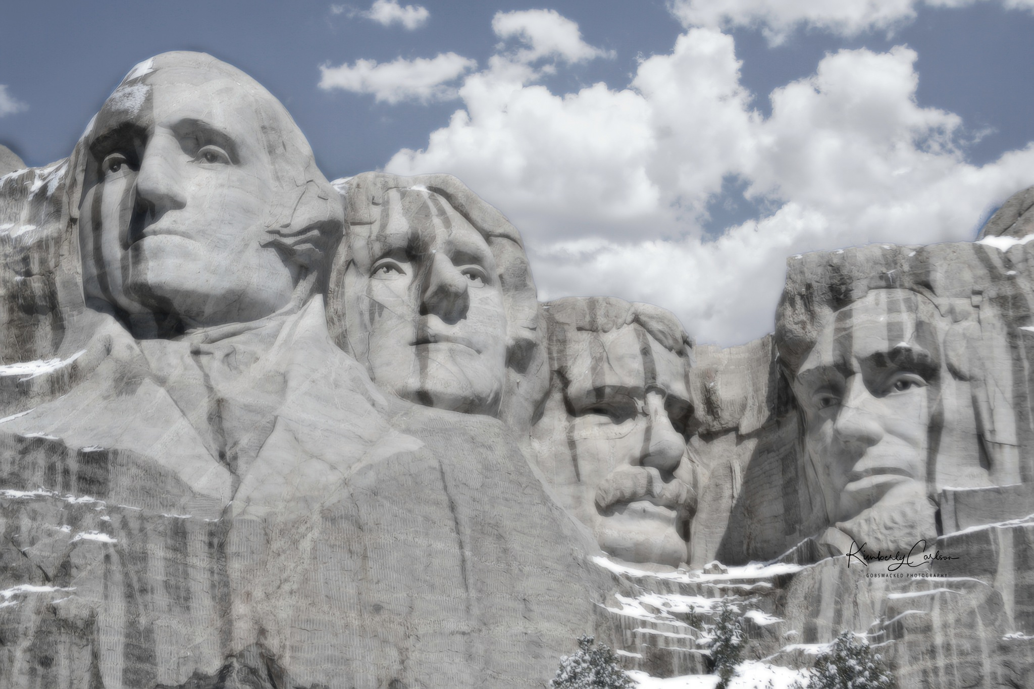 Mount Rushmore  by Gobsmacked