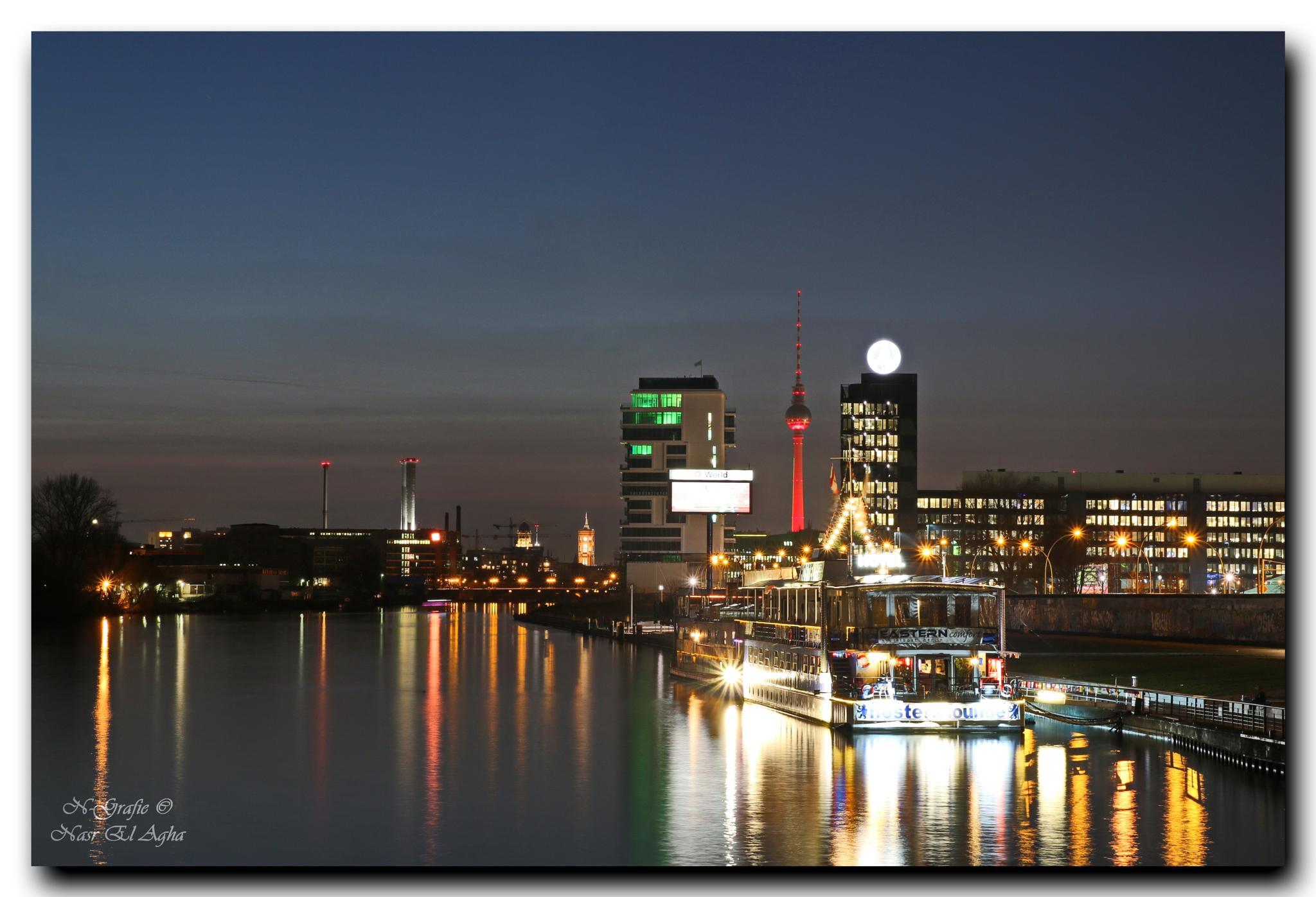 Berlin At Night by Nasr El Agha