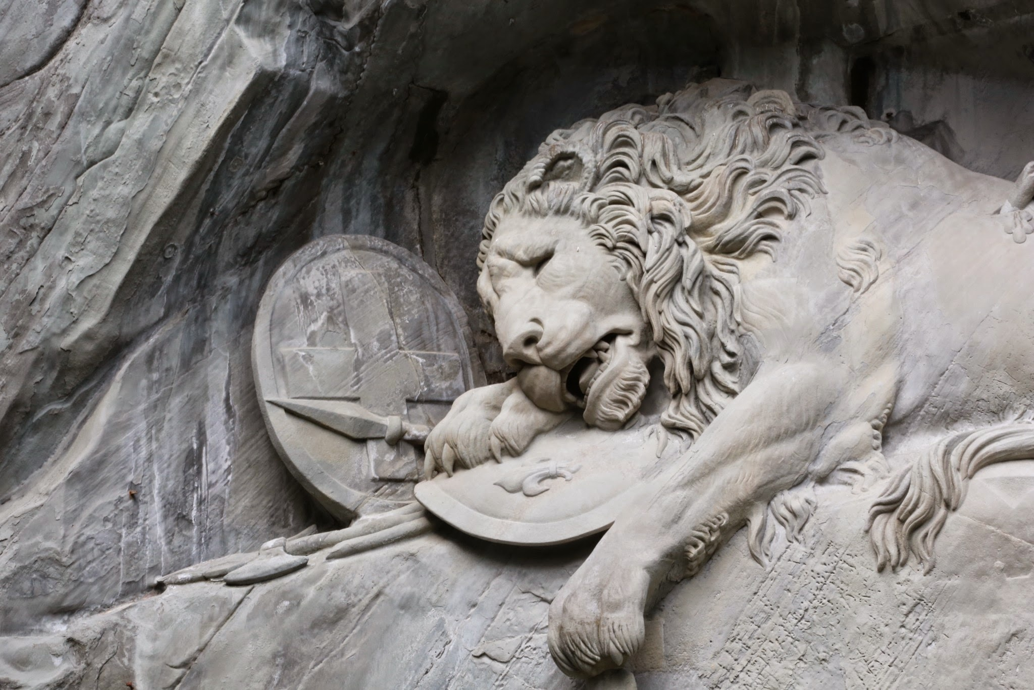 Lion Monument, Lucerne by zenilk
