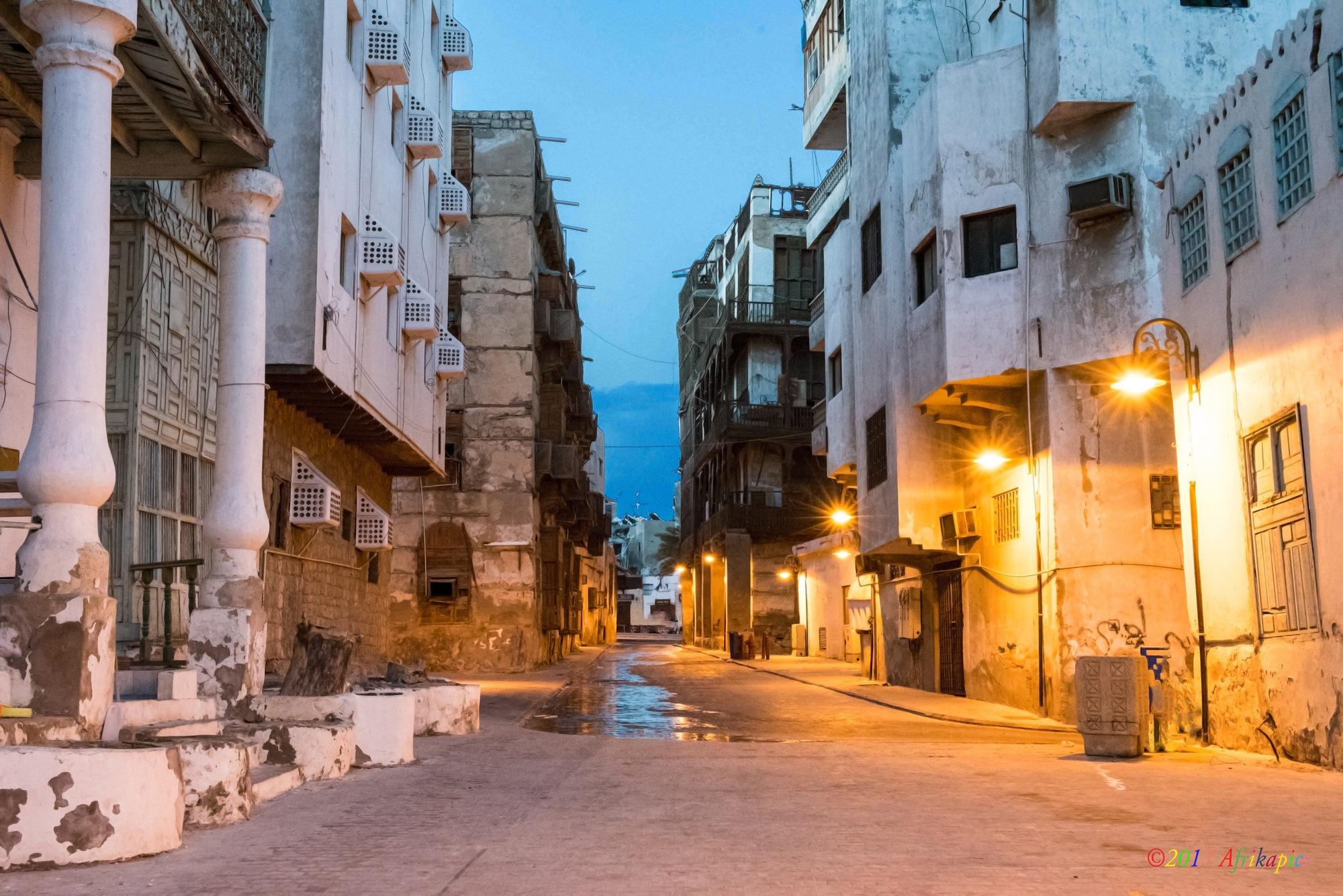 Jeddah - Old Town by Deon Warrington