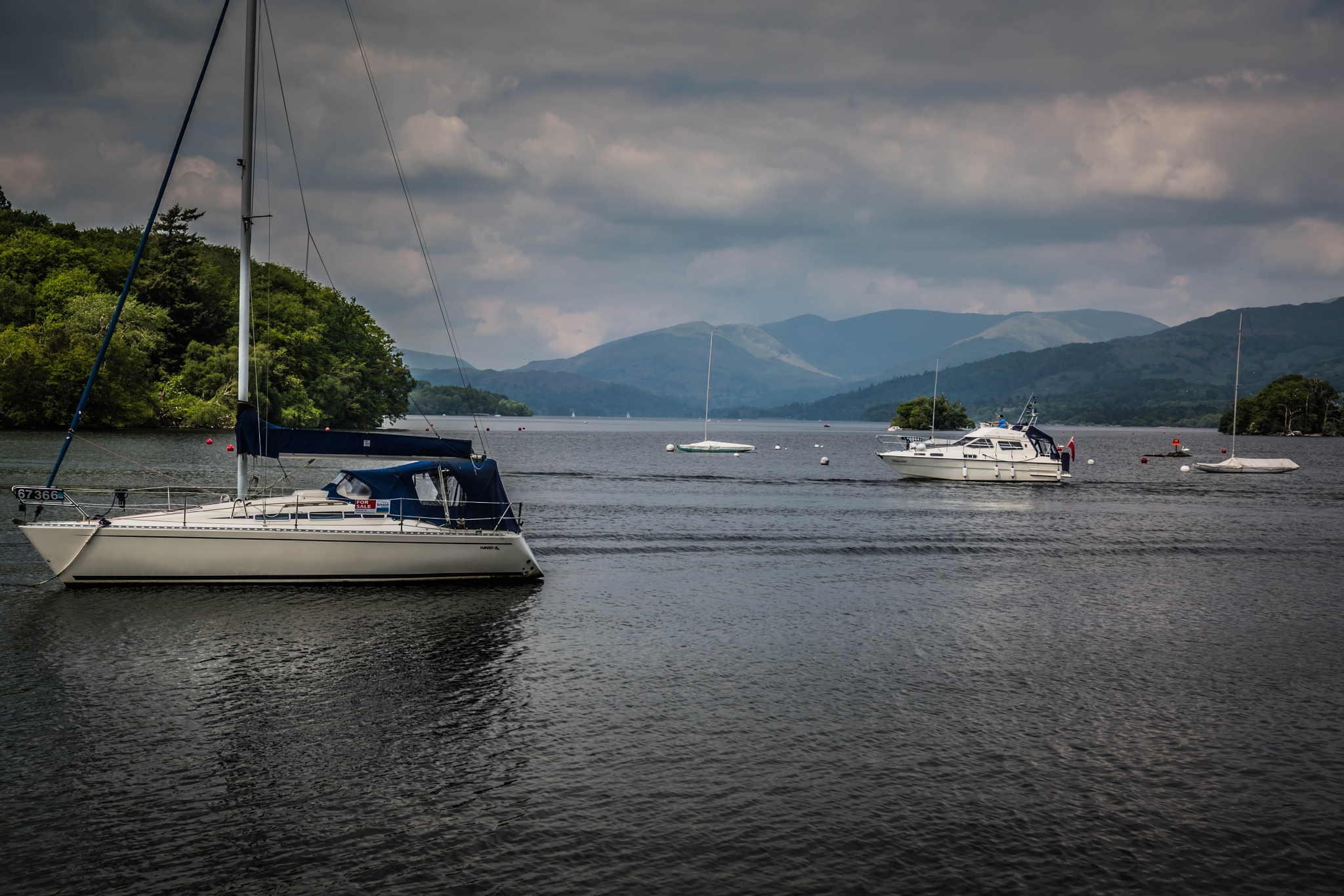 Bowness, Lake Windermere, Cumbria by Neil Wallis