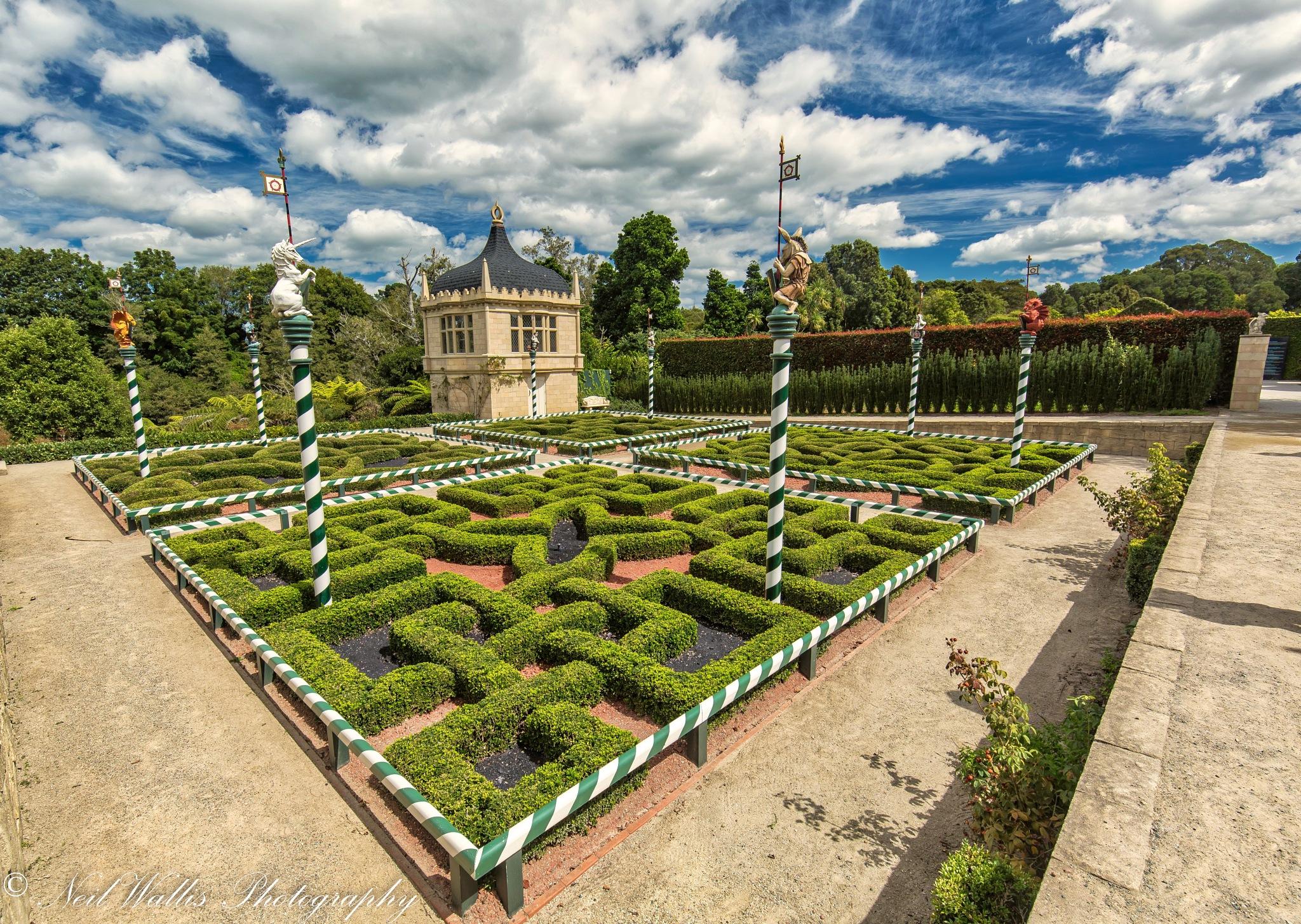 Tudor Gardens  by Neil Wallis