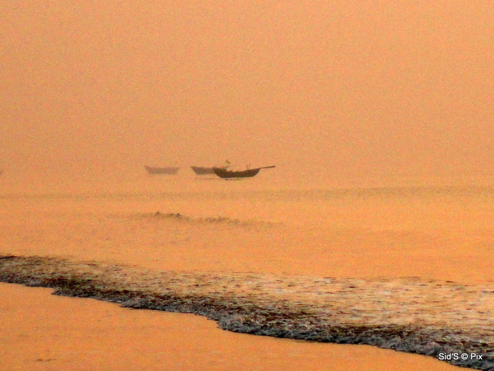 Boats in the Twilight Zone by Siddharth Sanyal