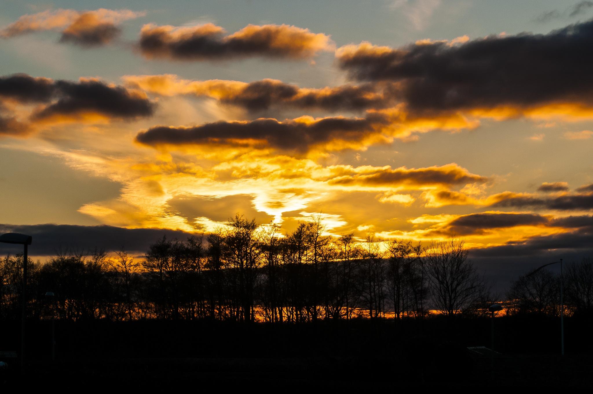 Sunset again... by Steen Skov