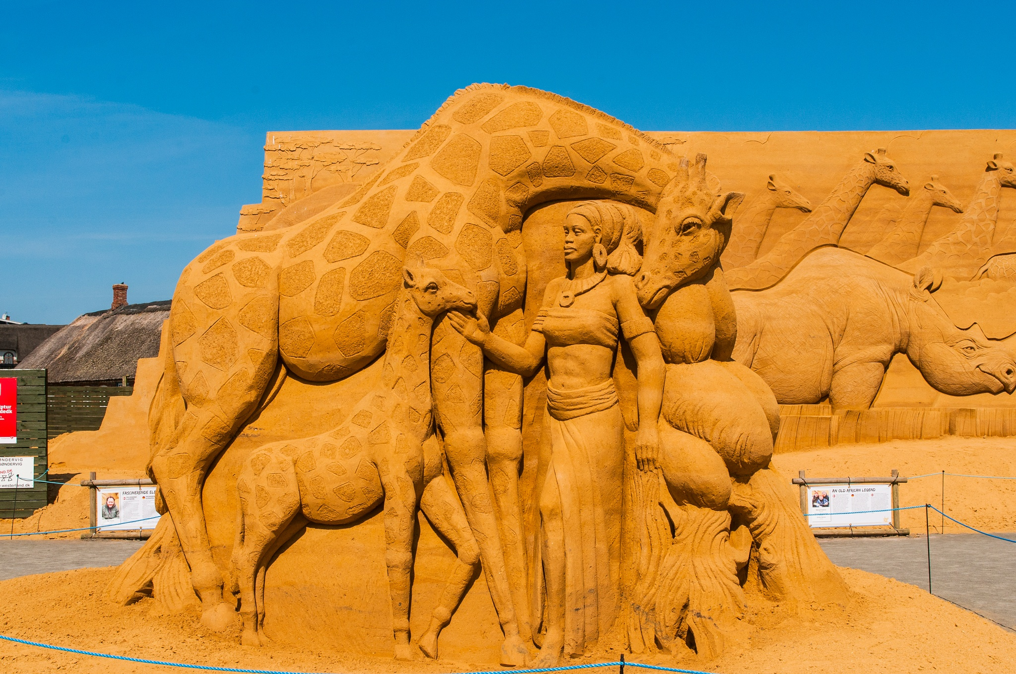 The entire sculpture... by Steen Skov