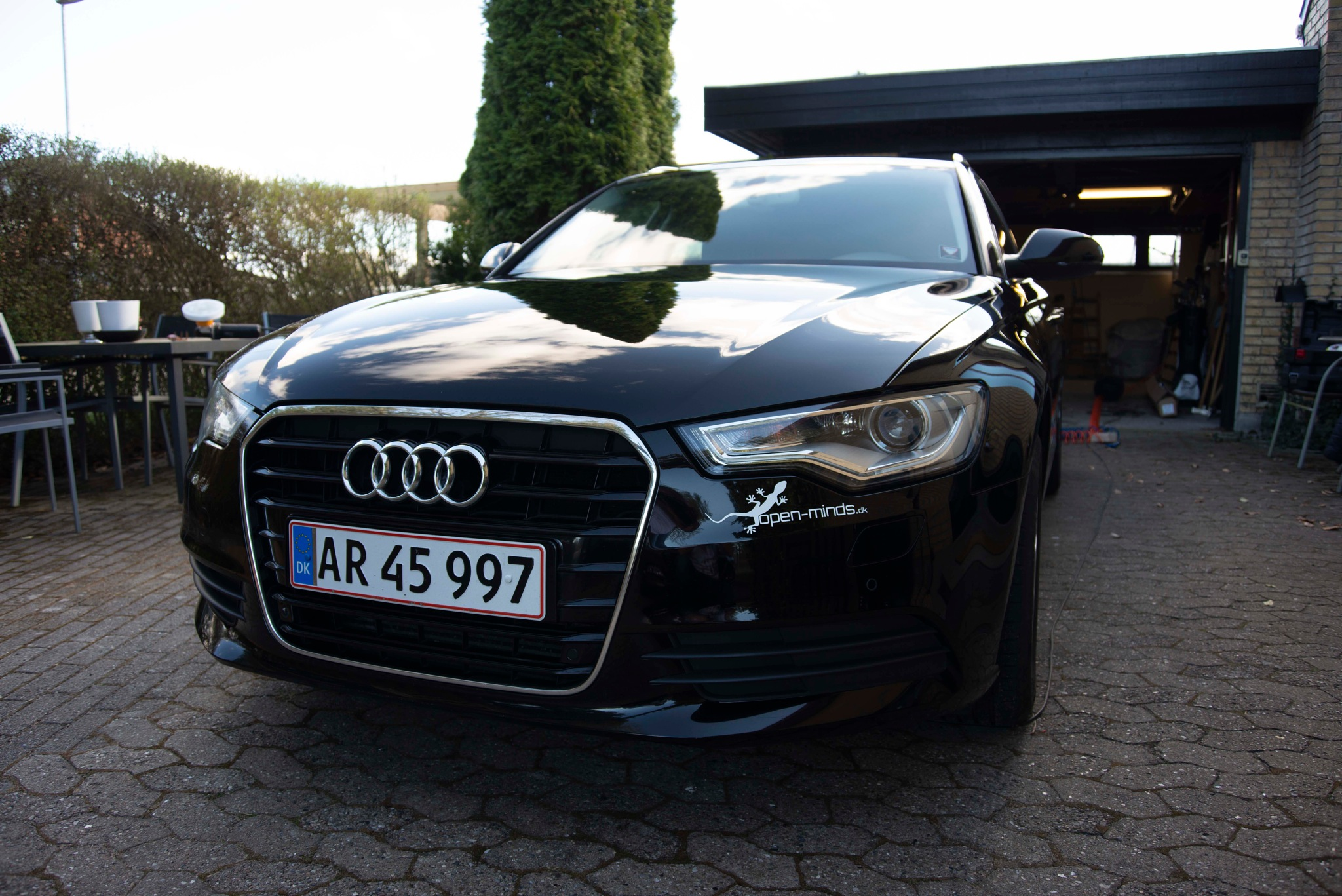 Audi A6 after polishing by Steen Skov