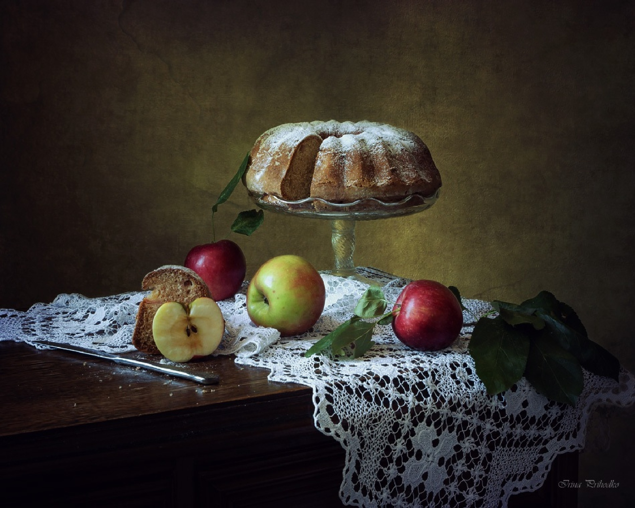 About apples and apple pie by Prikhodko Irina