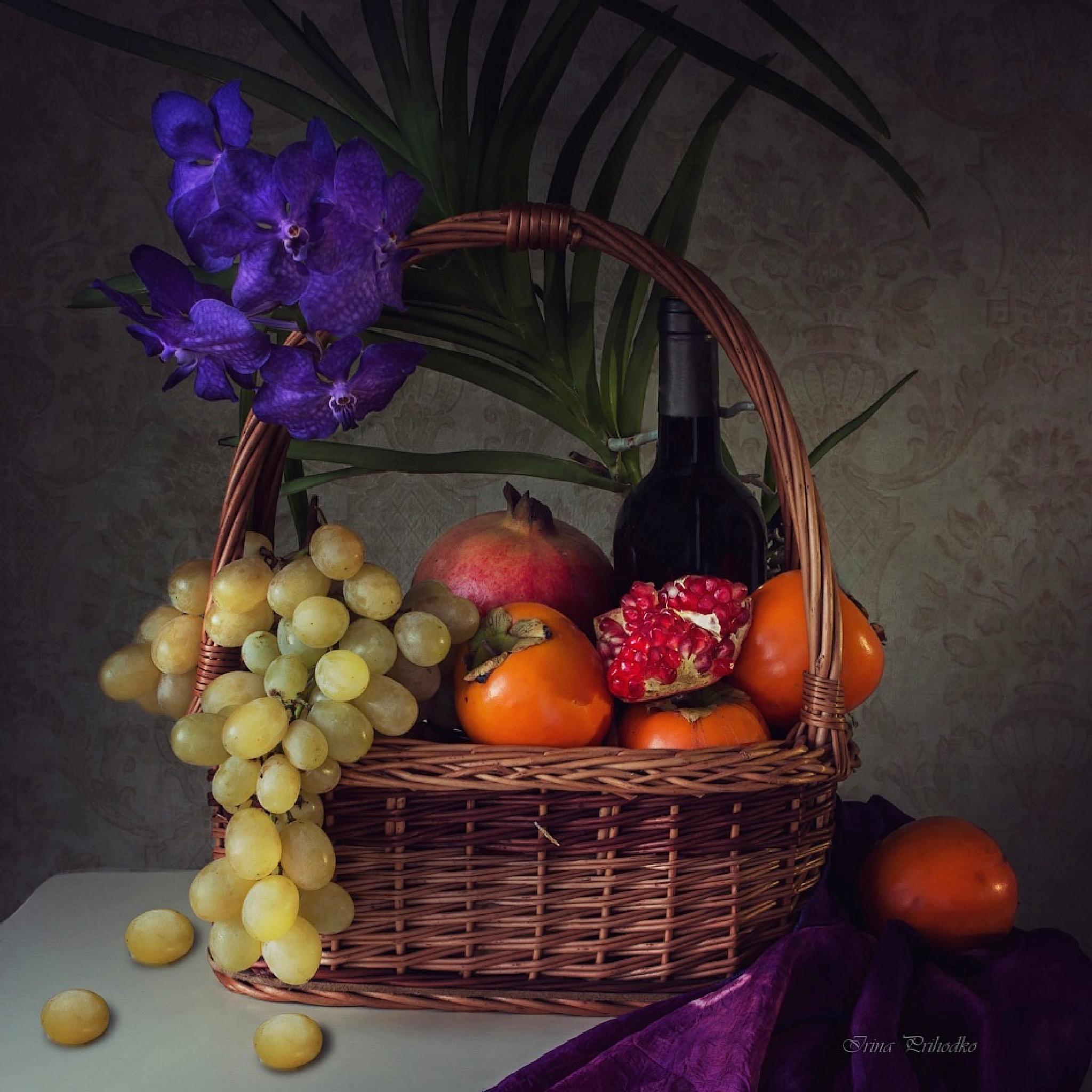 Fruit Basket by Prikhodko Irina