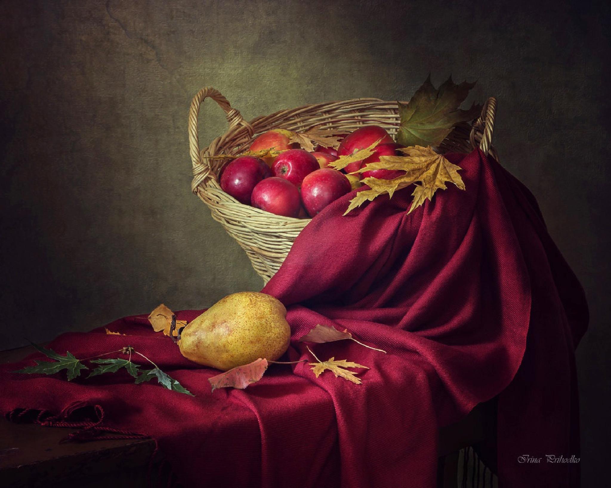 Still life with fall colors by Prikhodko Irina