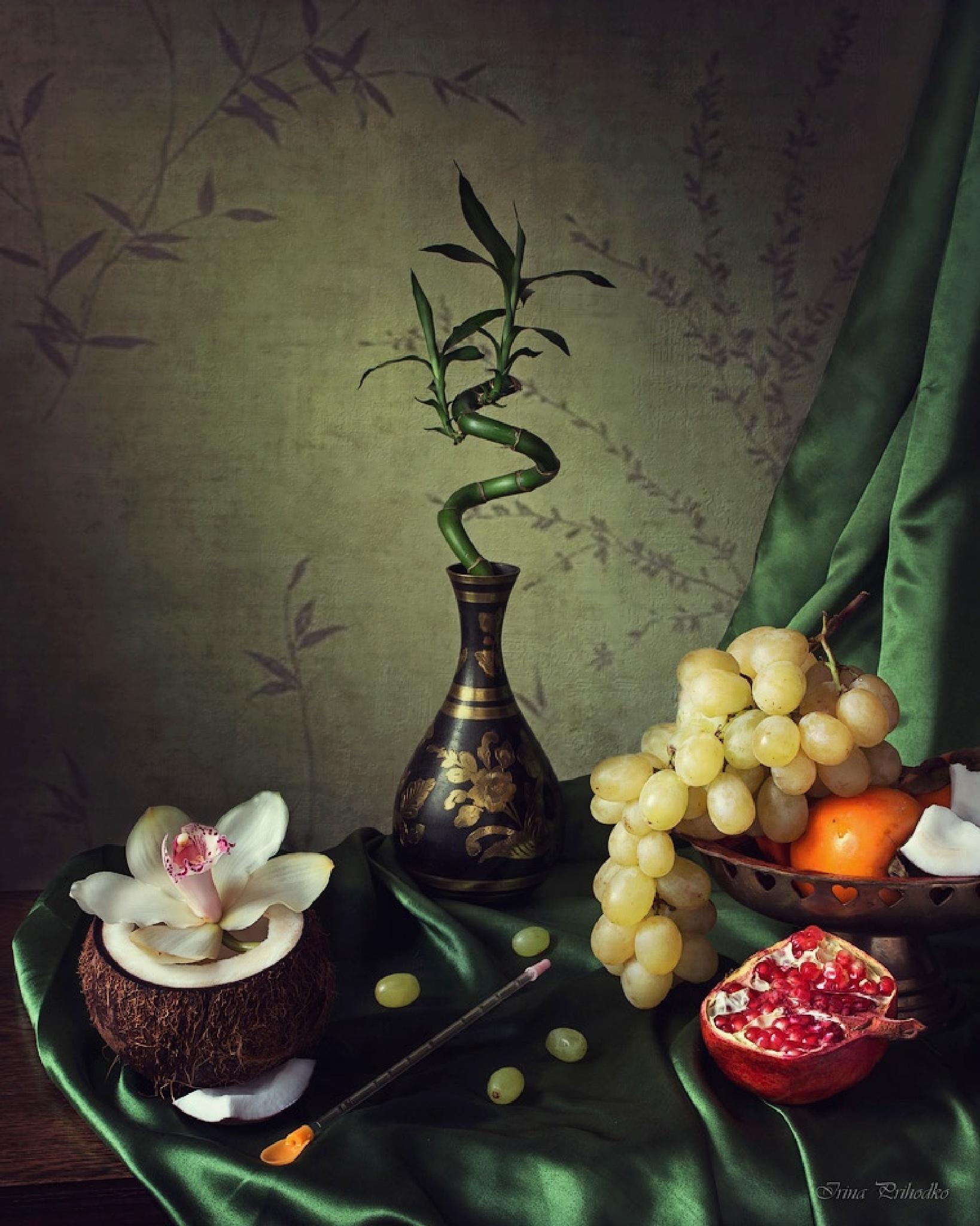 Still in the style of Siam by Prikhodko Irina