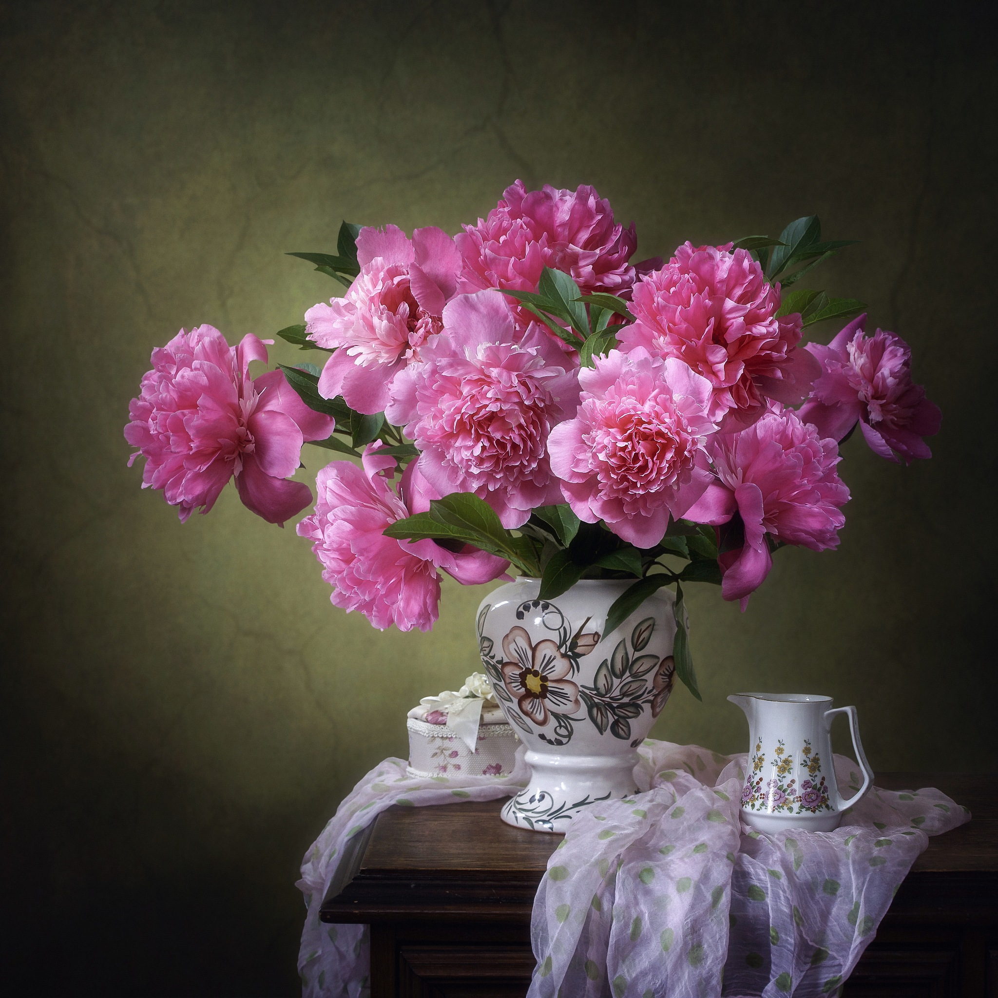 About pink peonies by Prikhodko Irina