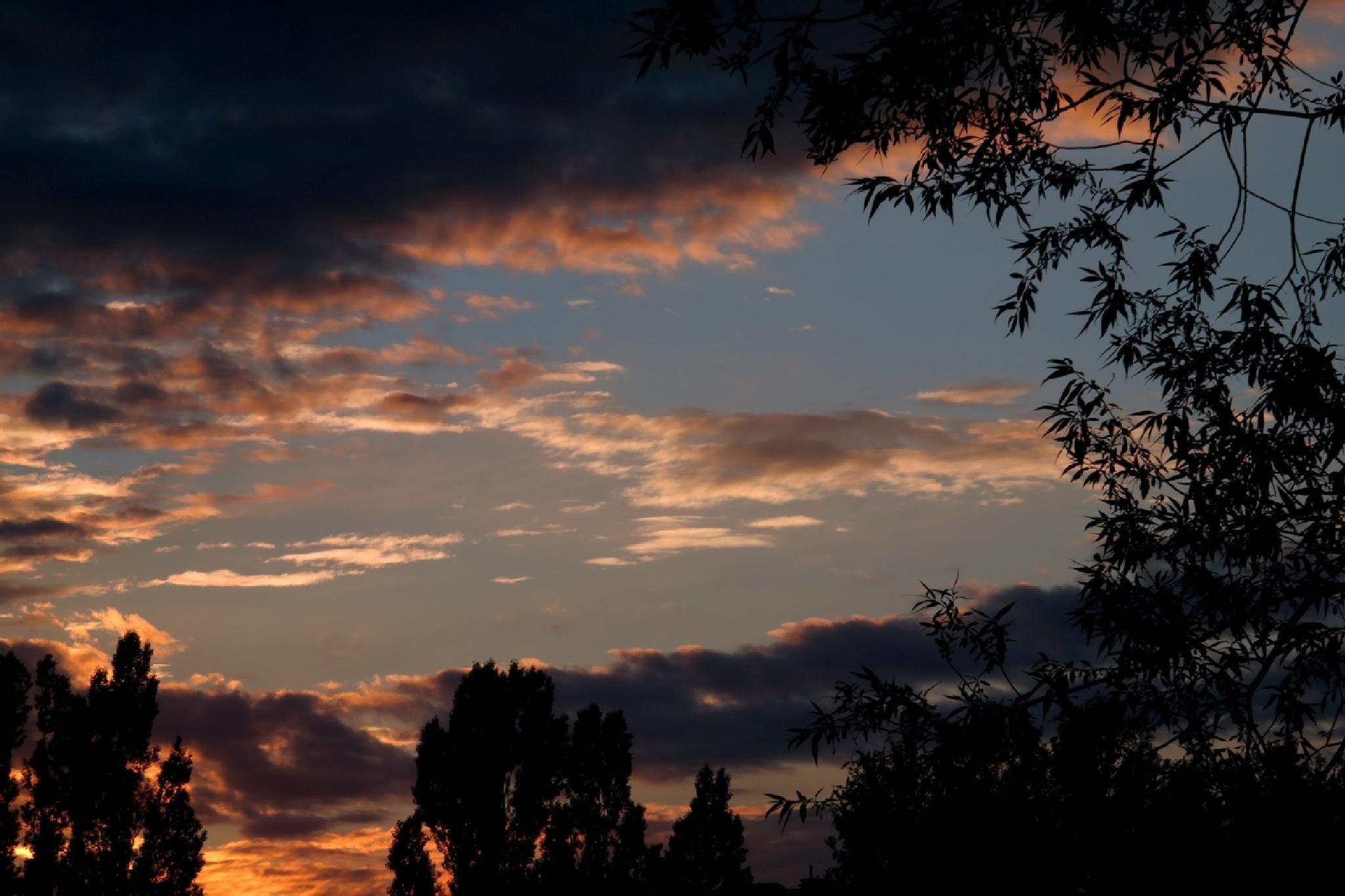 sunset by Zbigniew Włodarski