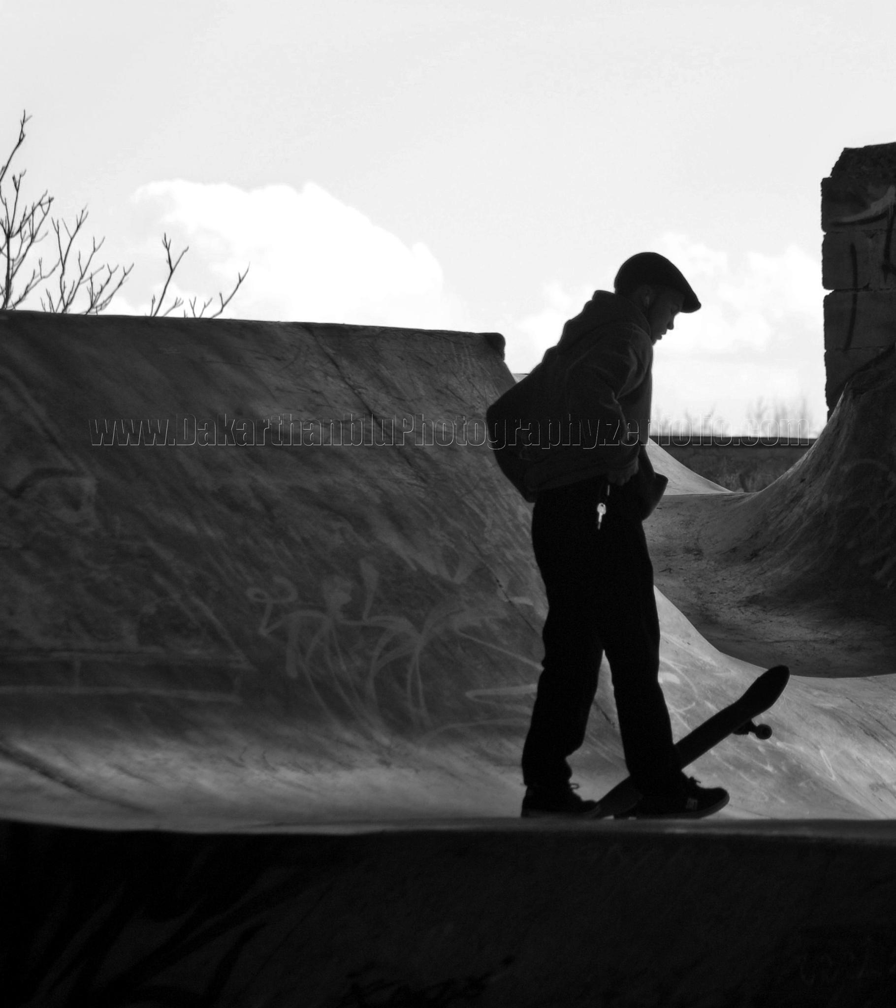 Pensive skater by Richard Rykard