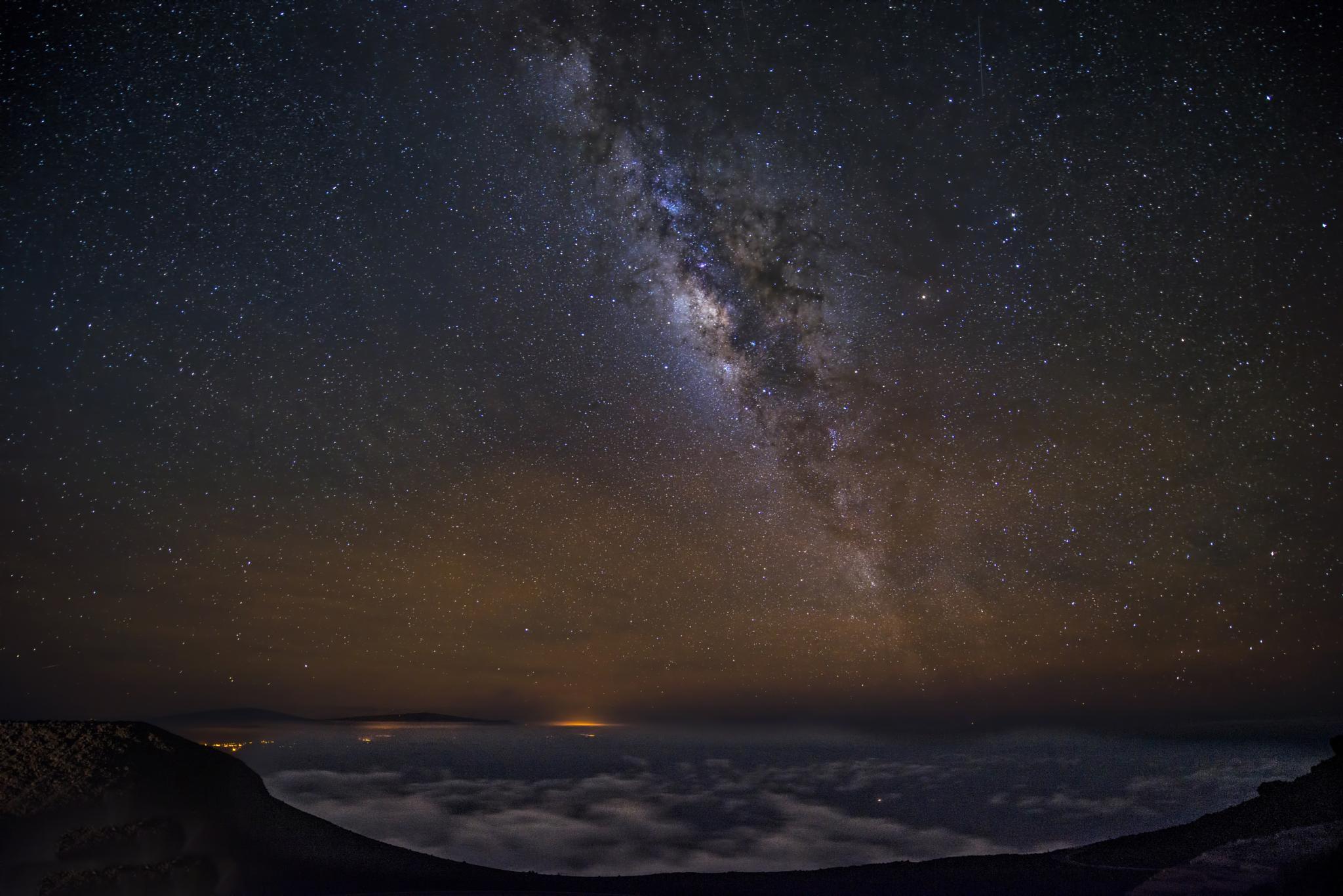 Milky Way by Dennis Hoffbuhr