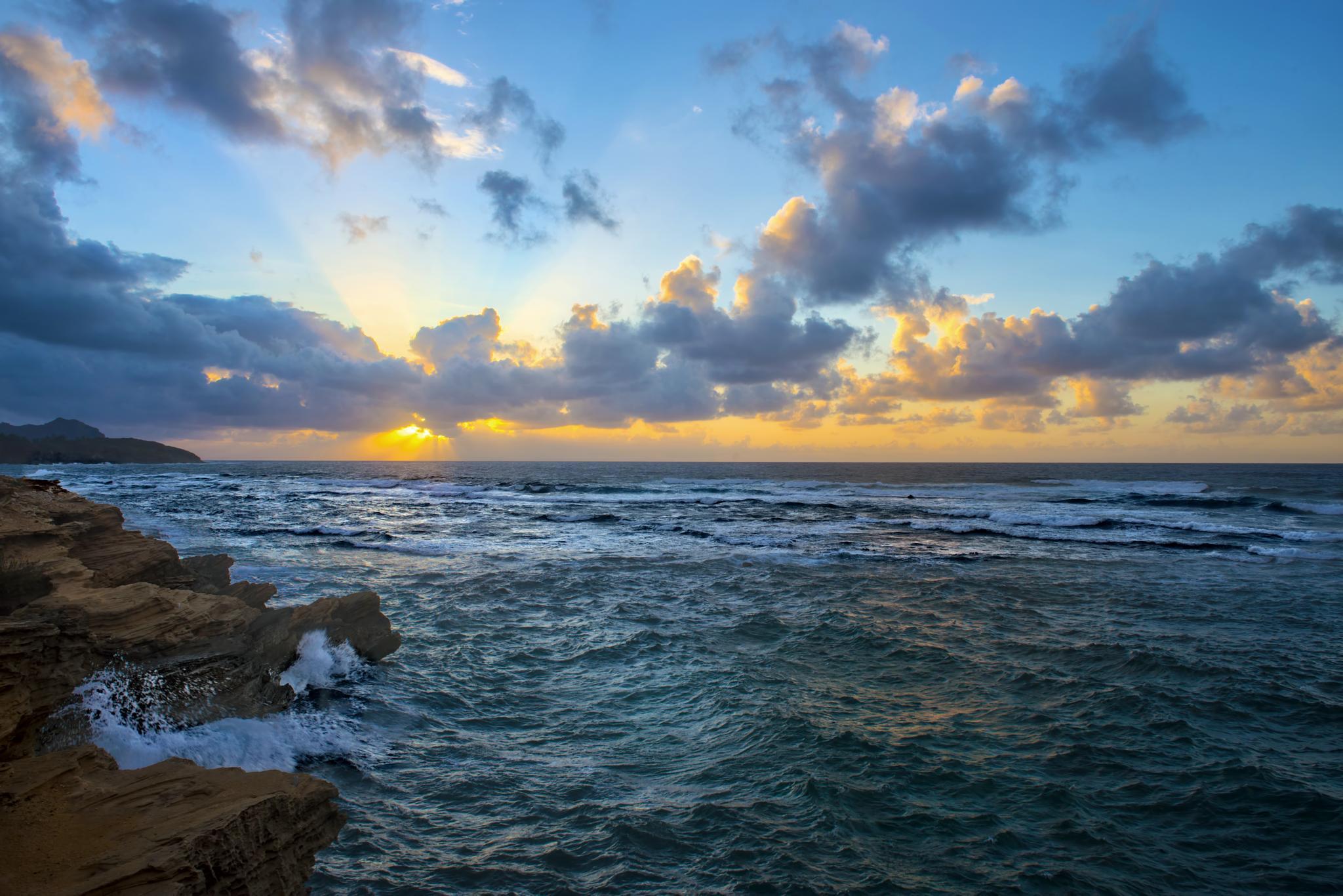 South Shore Sunrise by Dennis Hoffbuhr