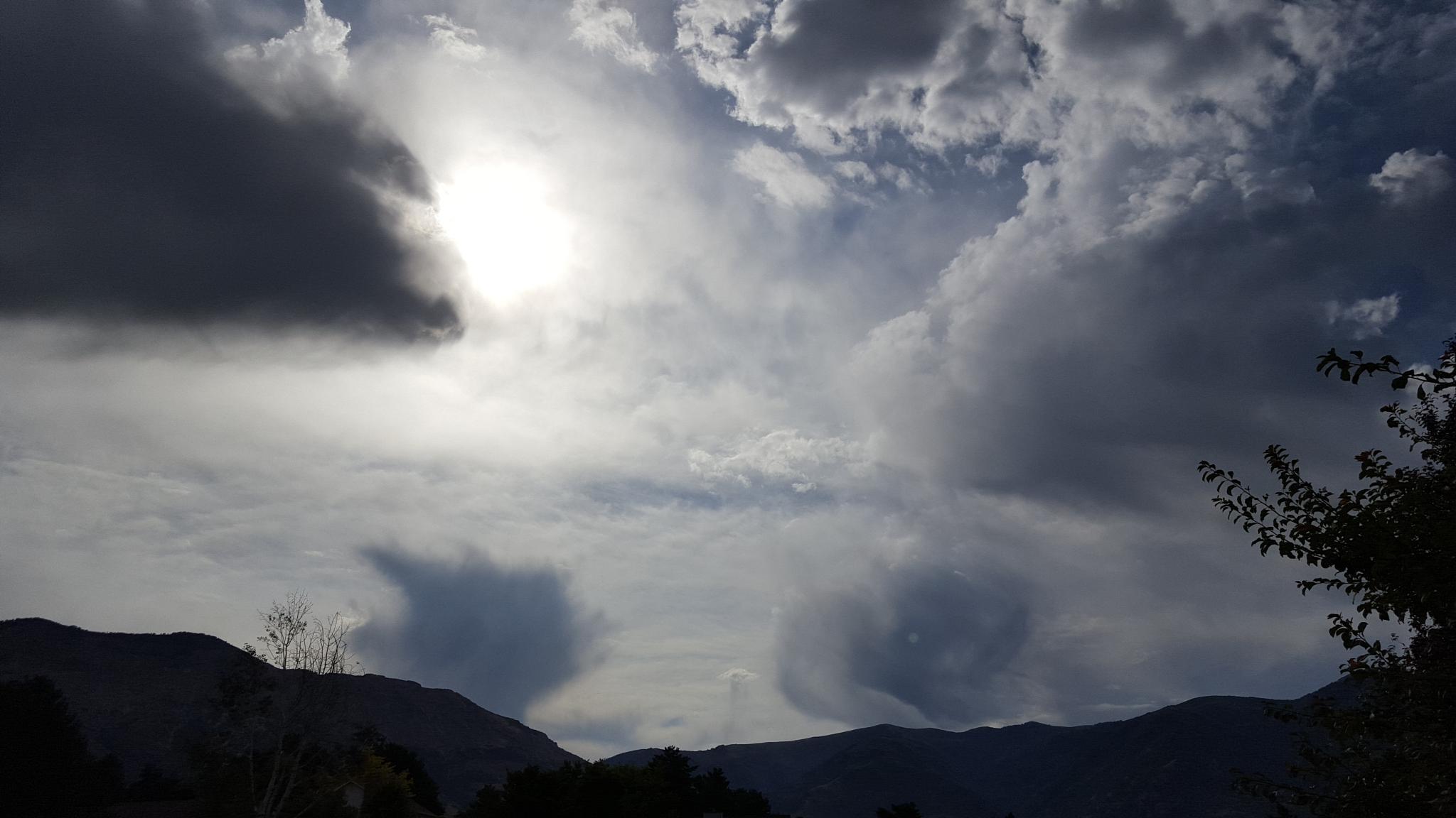 Photo in Landscape #ogden #utah #cloud #clouds #mountains